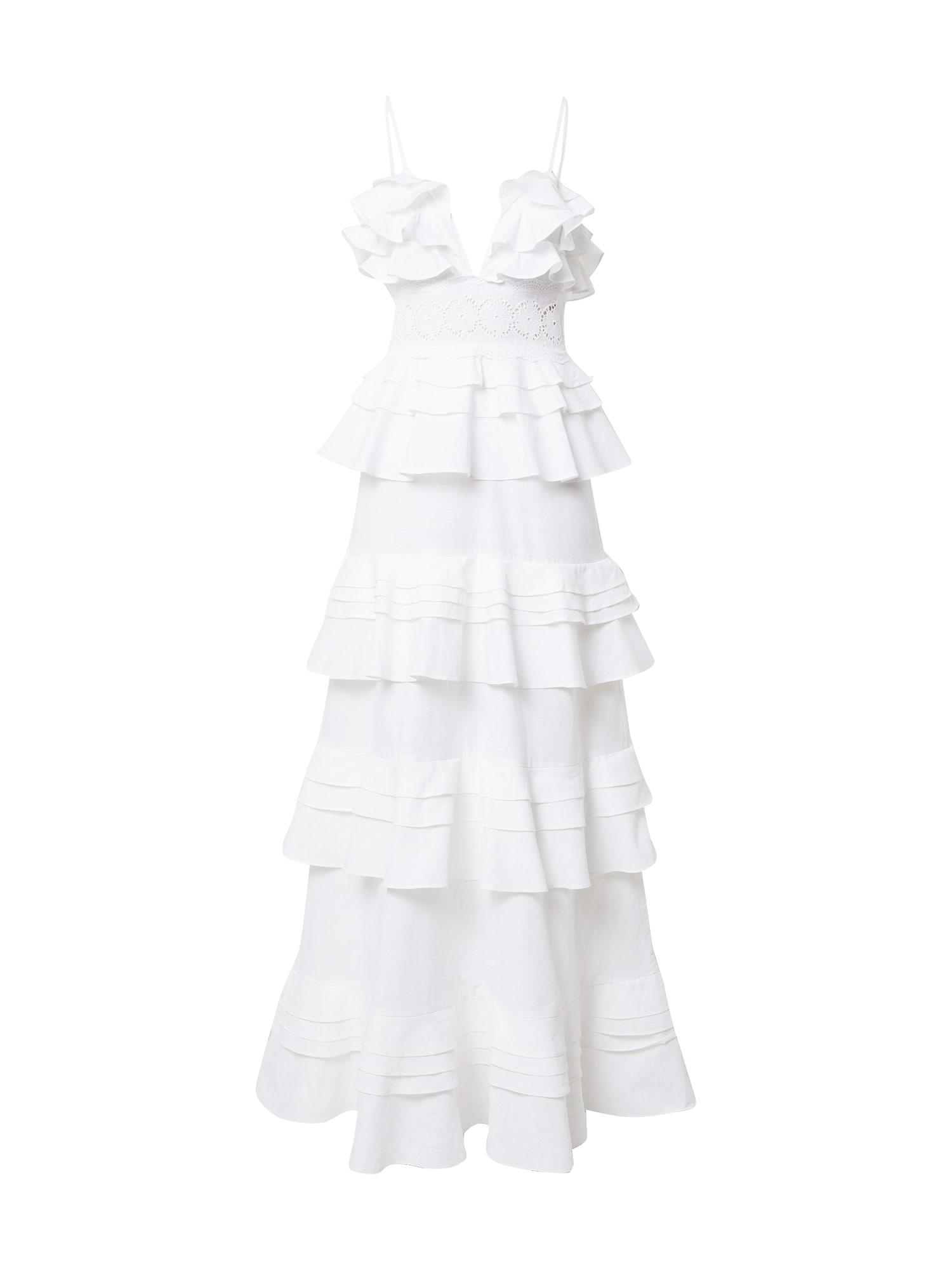 True Decadence Vakarinė suknelė balta