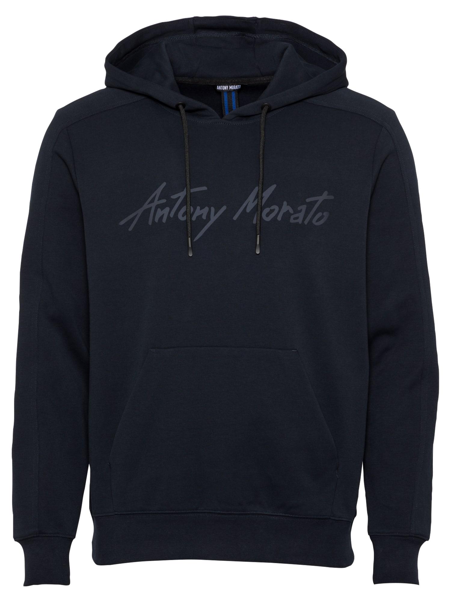 ANTONY MORATO Megztinis be užsegimo tamsiai mėlyna