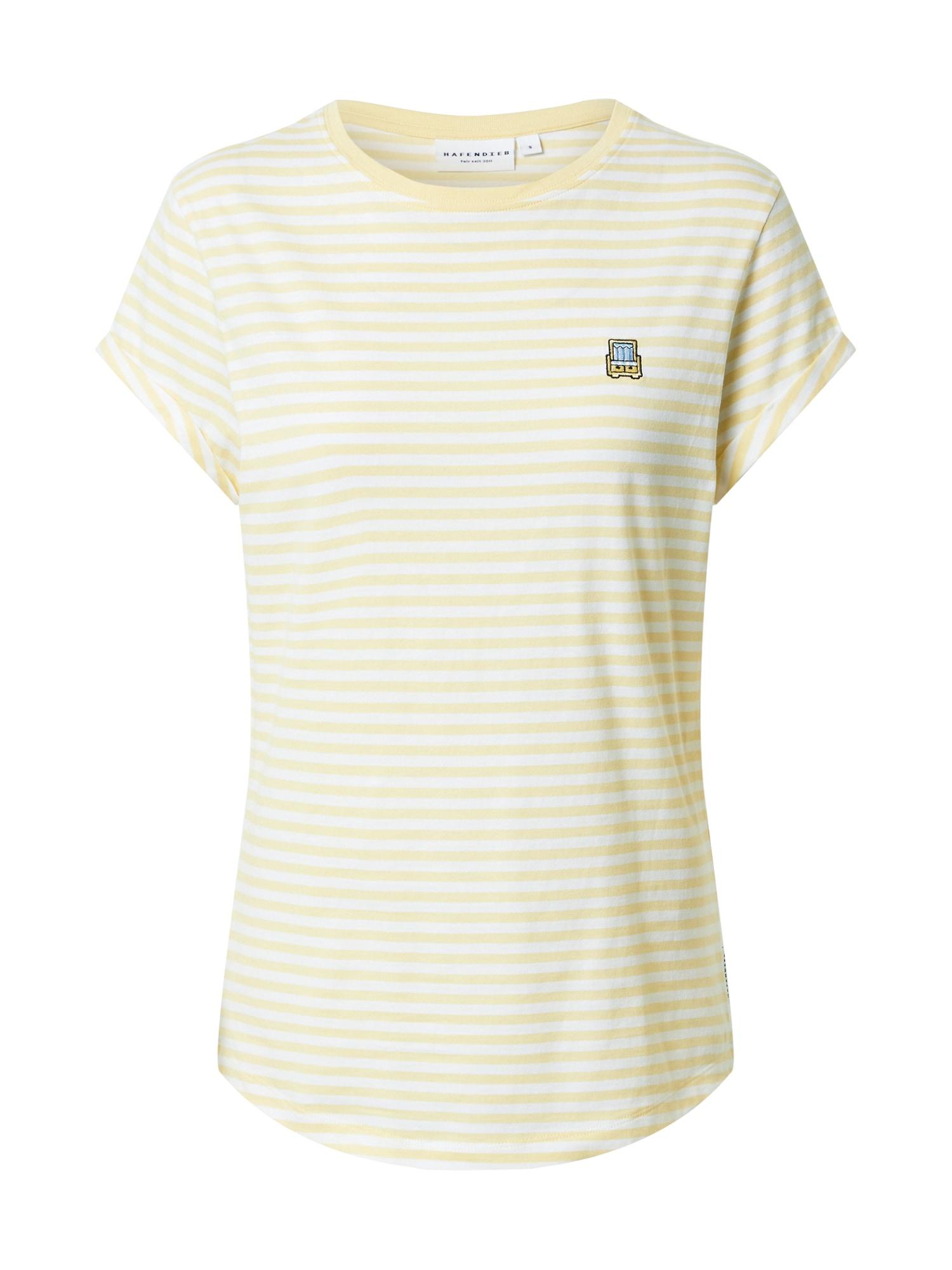 Hafendieb Marškinėliai šviesiai geltona / balta / juoda / šviesiai mėlyna