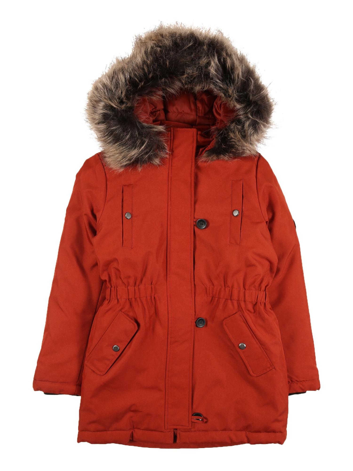 KIDS ONLY Zimní bunda 'Iris'  rezavě červená