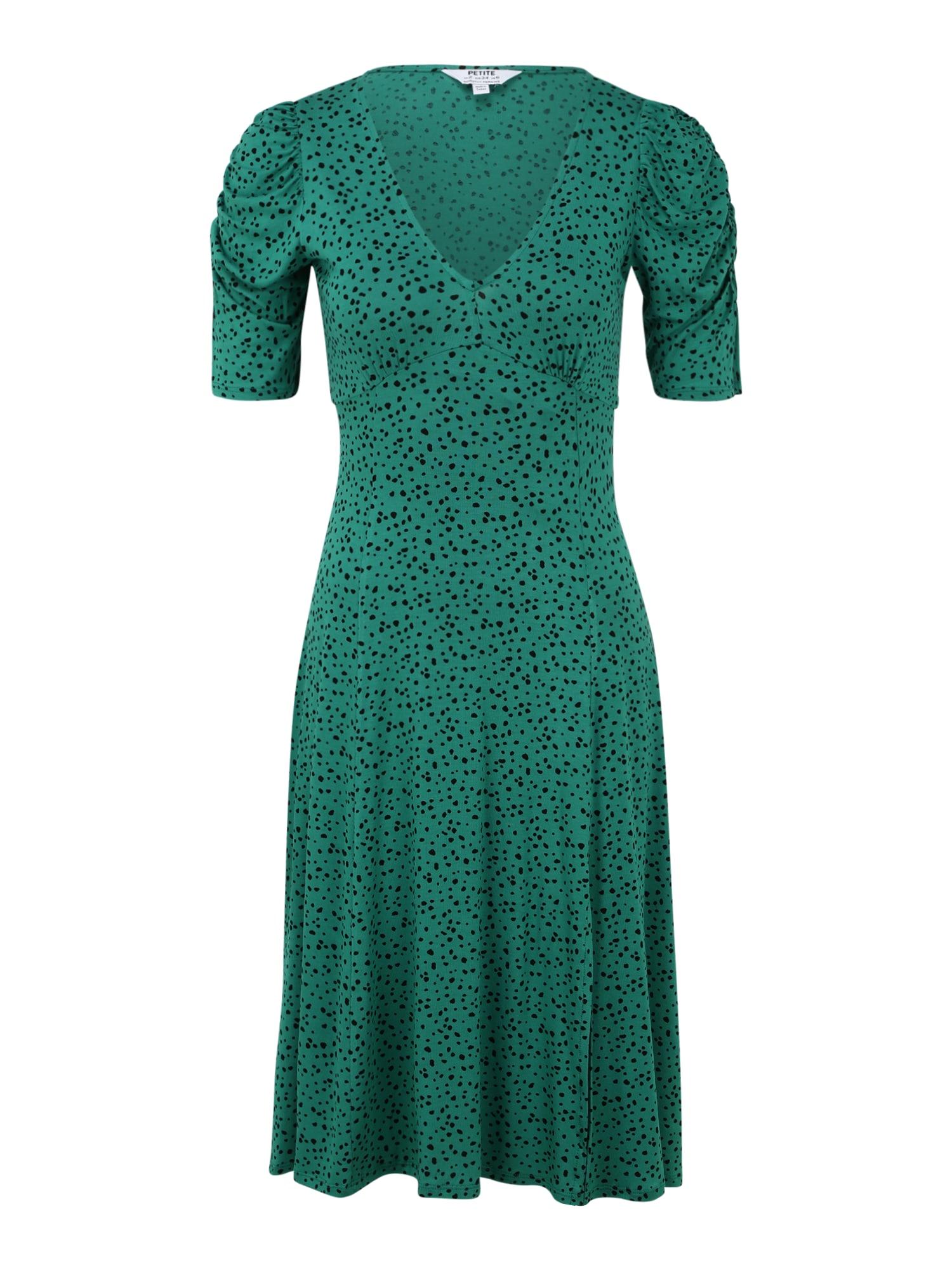 Dorothy Perkins (Petite) Suknelė juoda / žalia