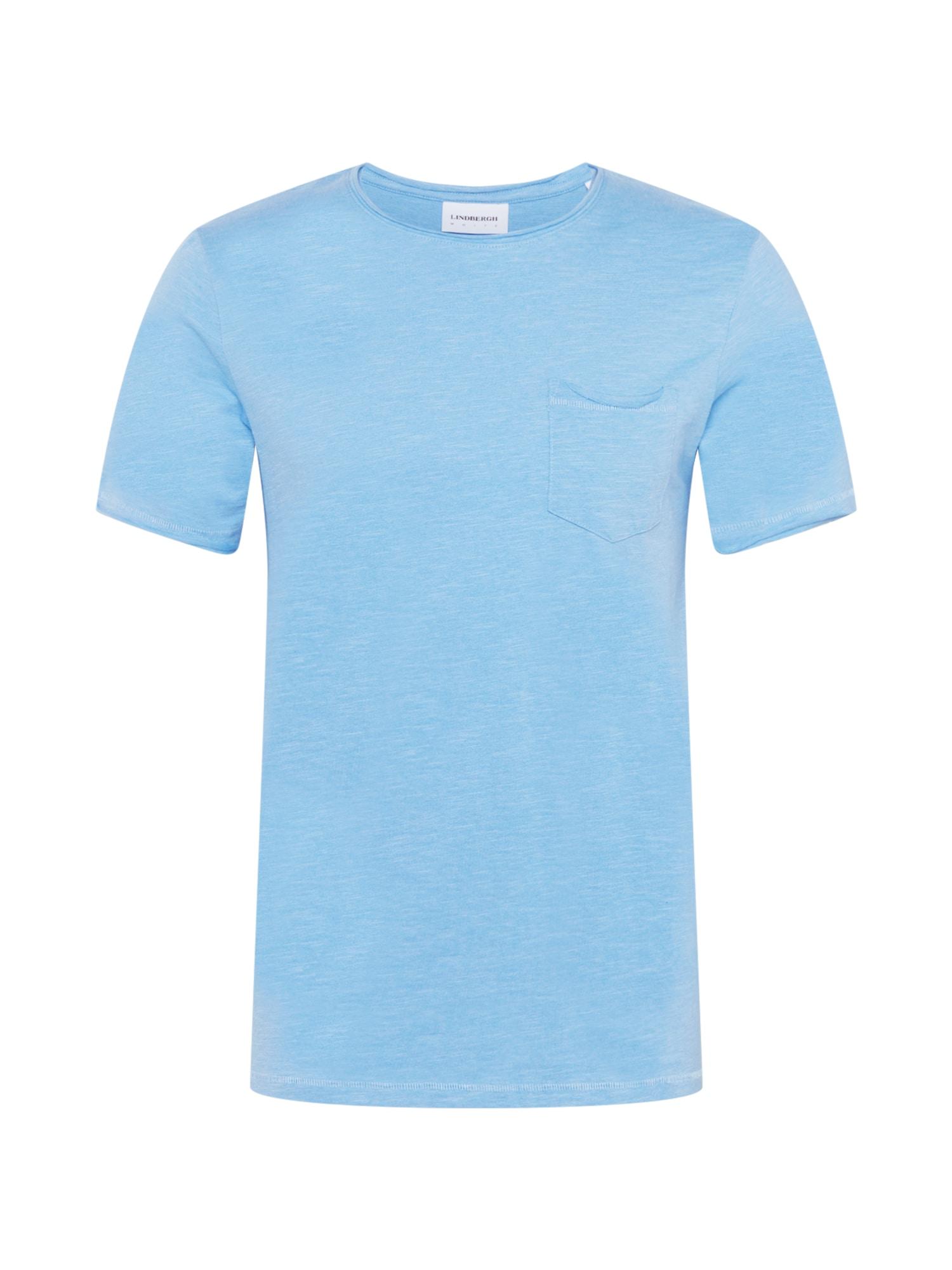 Lindbergh Marškinėliai šviesiai mėlyna