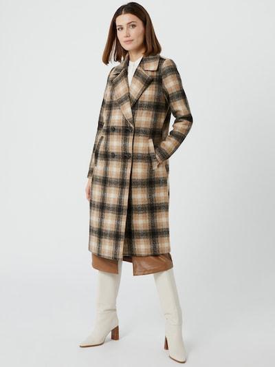 Vero Moda Hailey Lang-karierte Wolljacke