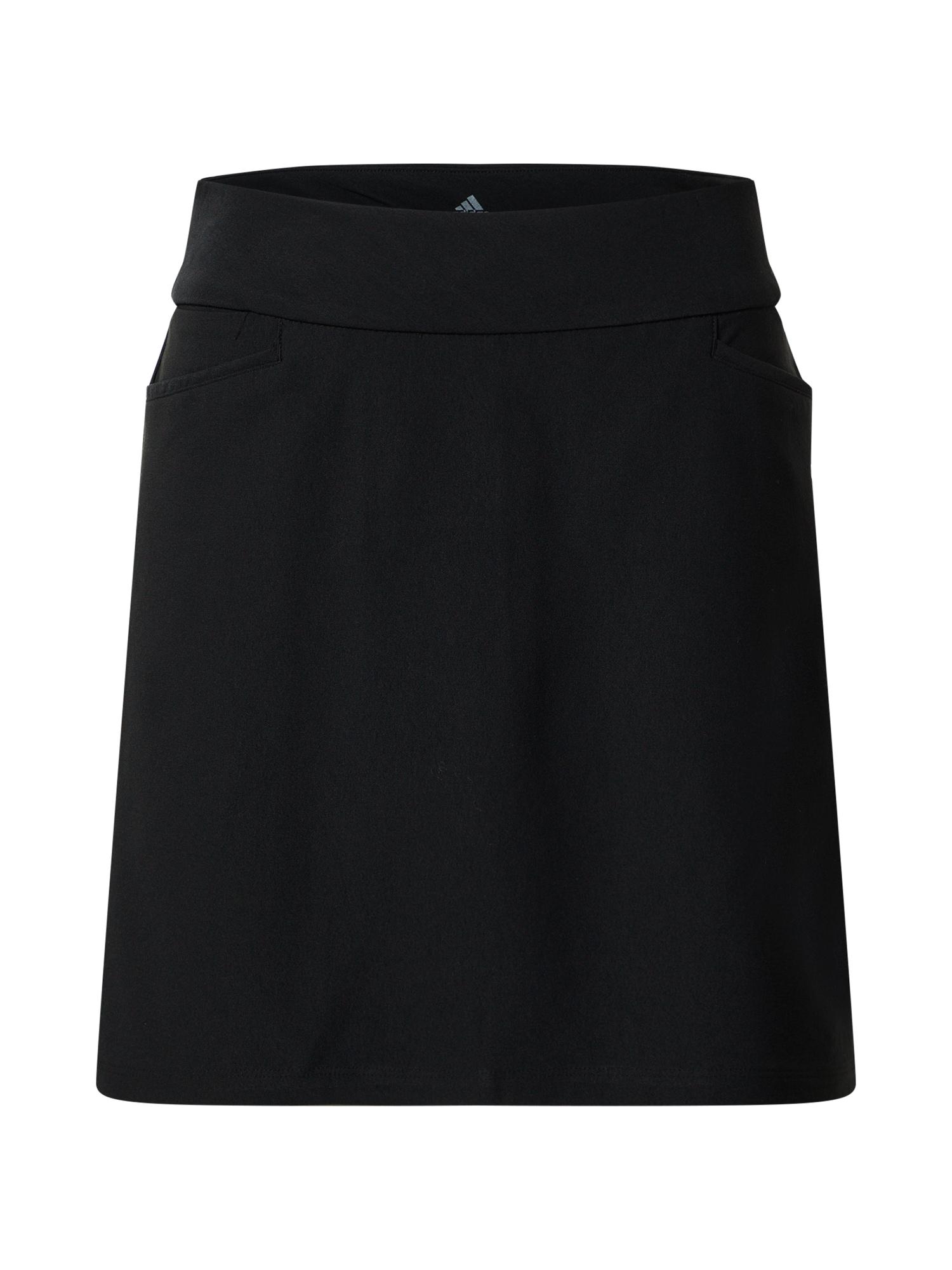 adidas Golf Sportinio stiliaus sijonas 'STAR' juoda