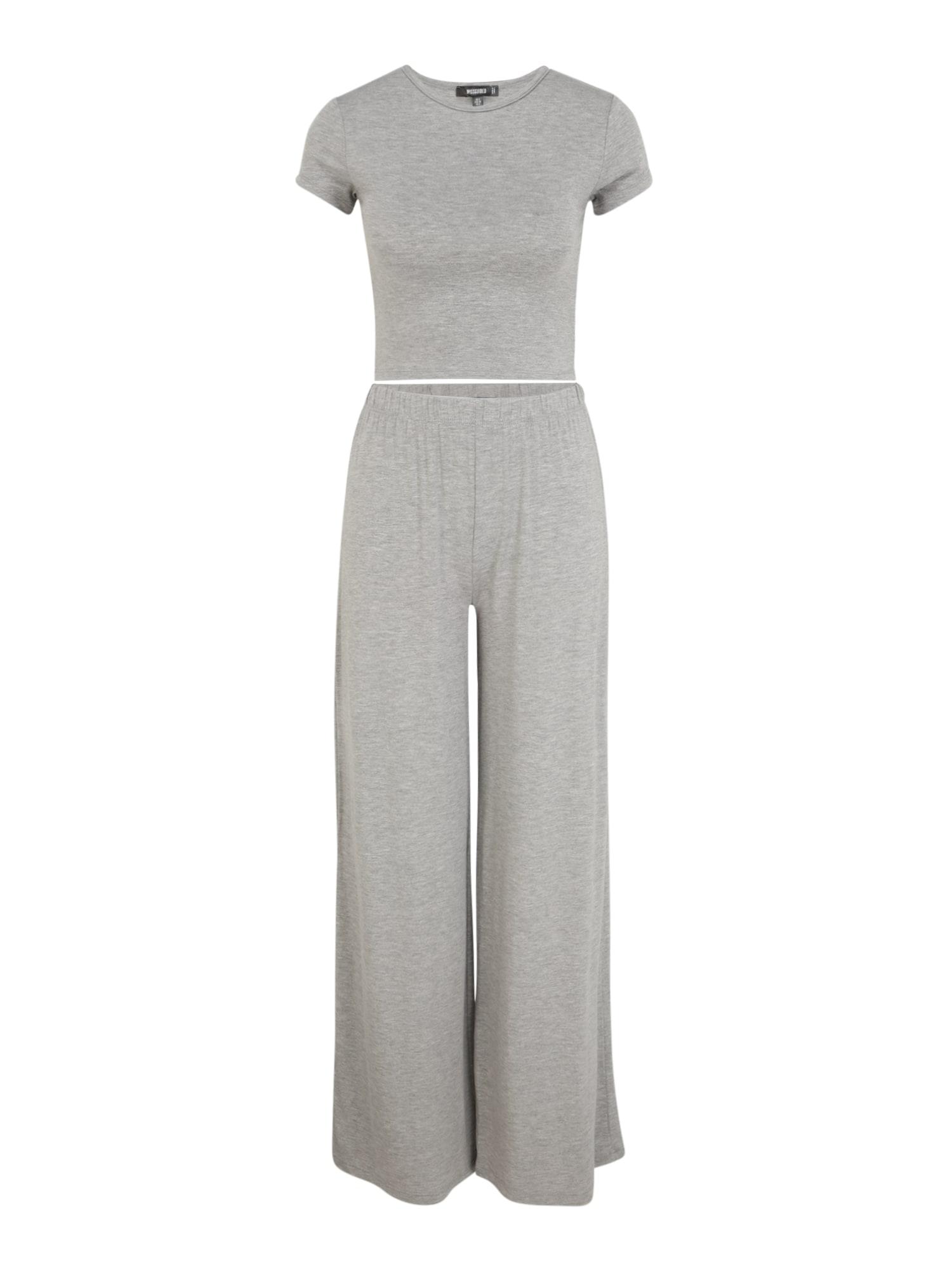 Missguided (Tall) Pižama margai pilka