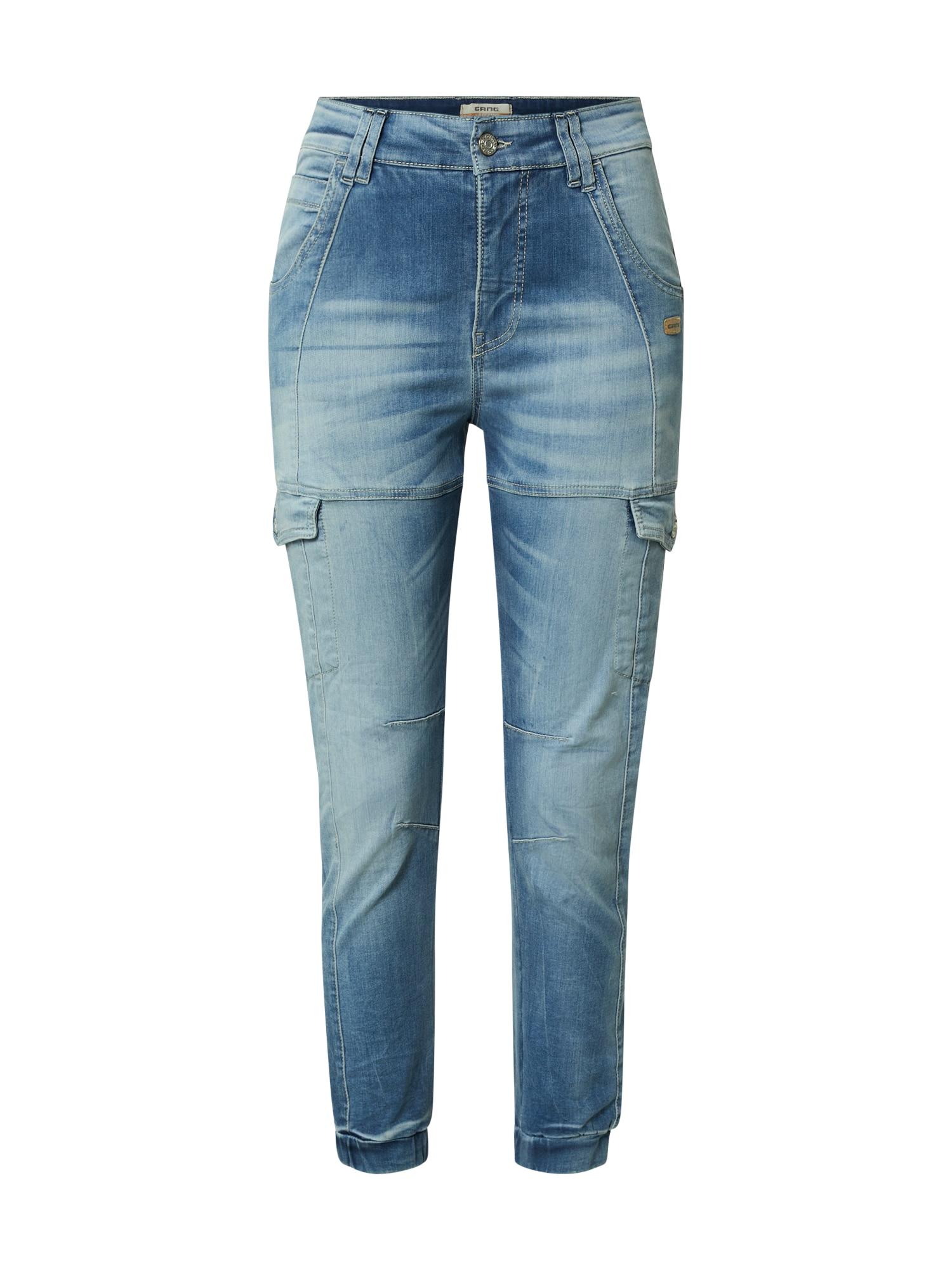 Gang Darbinio stiliaus džinsai 'GISELLE' tamsiai (džinso) mėlyna