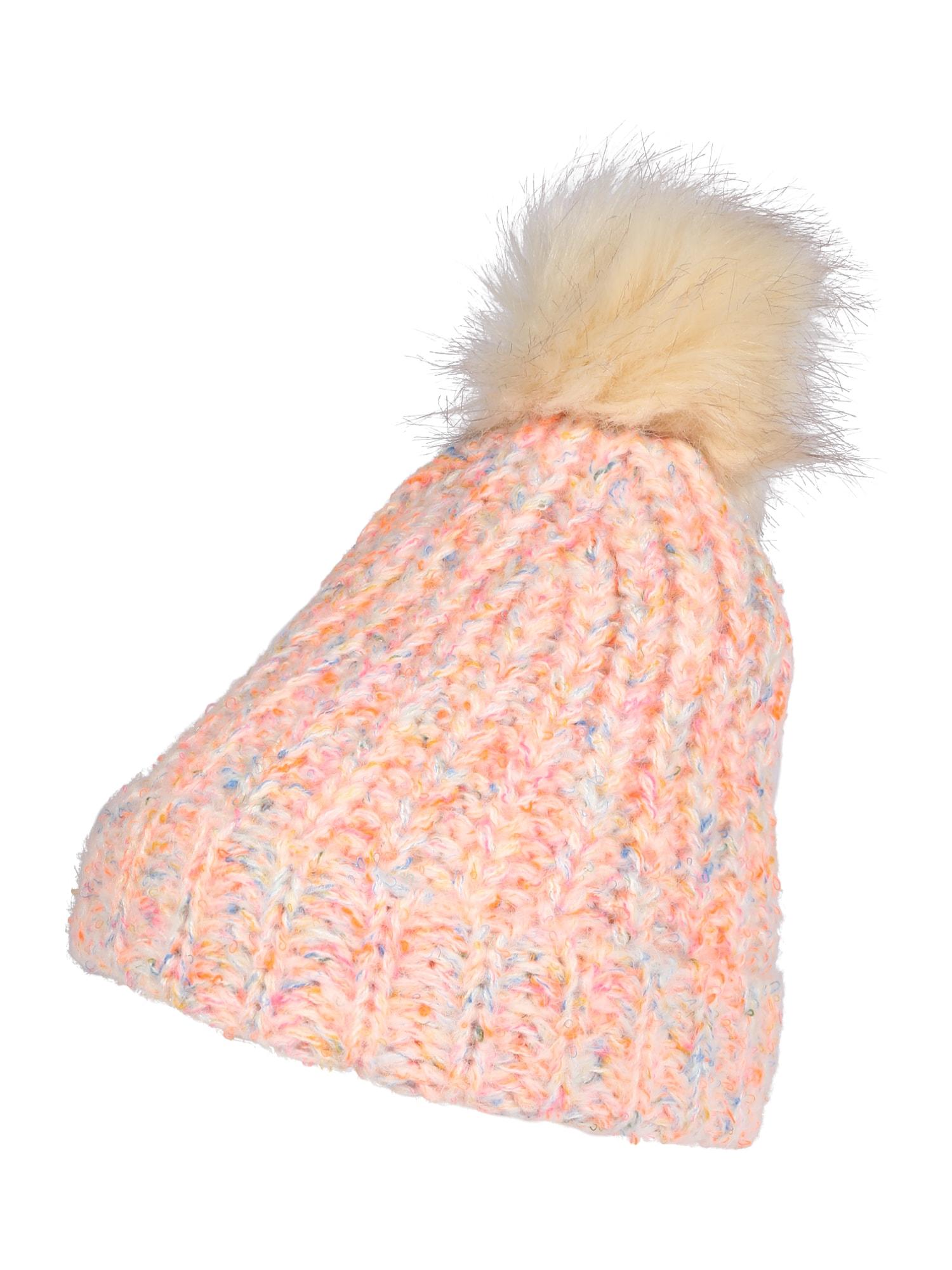GAP Megzta kepurė neoninė rožinė