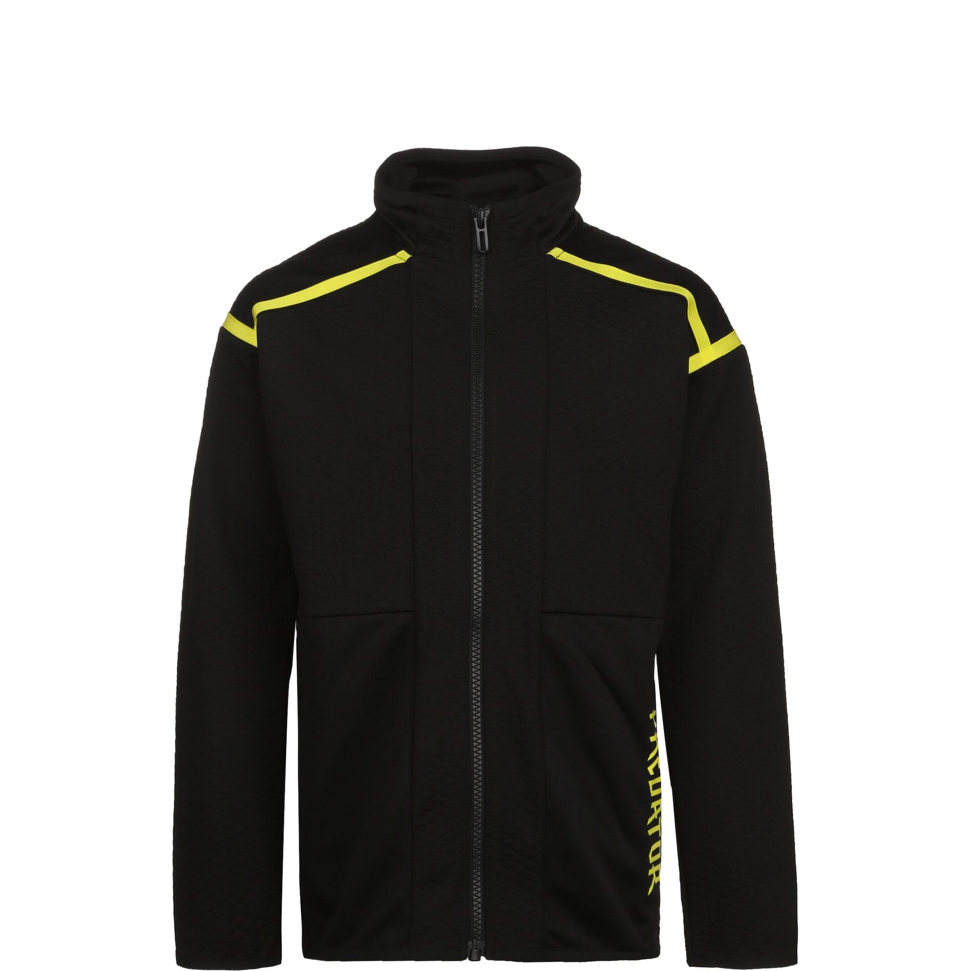 ADIDAS PERFORMANCE Sportinė striukė 'Predator' juoda / geltona