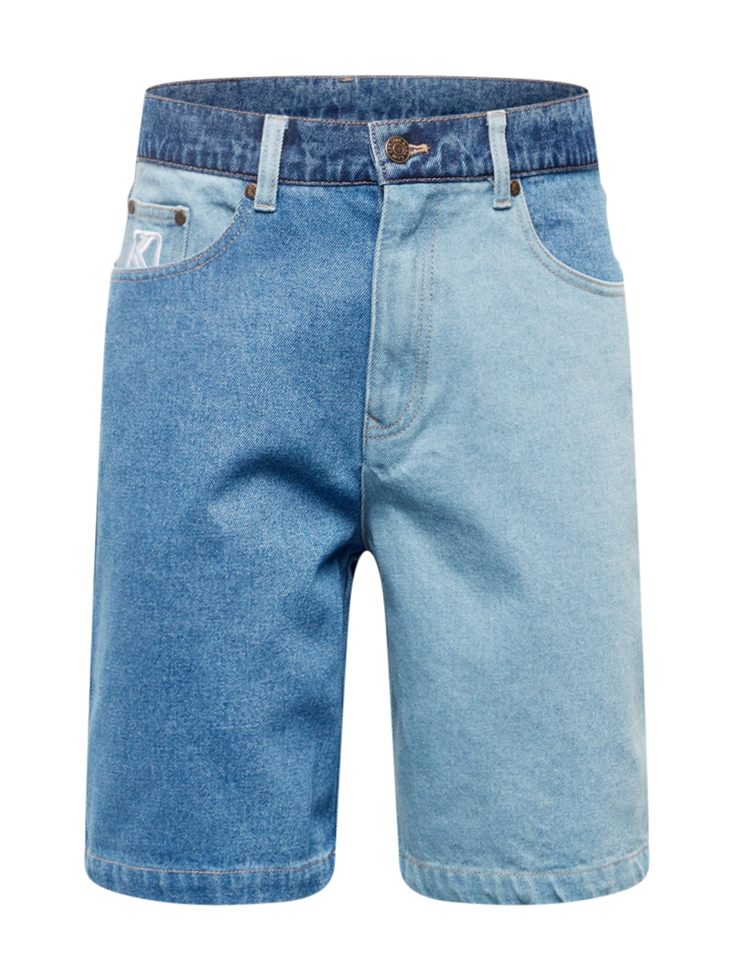 Karl Kani Džinsai tamsiai (džinso) mėlyna / šviesiai mėlyna