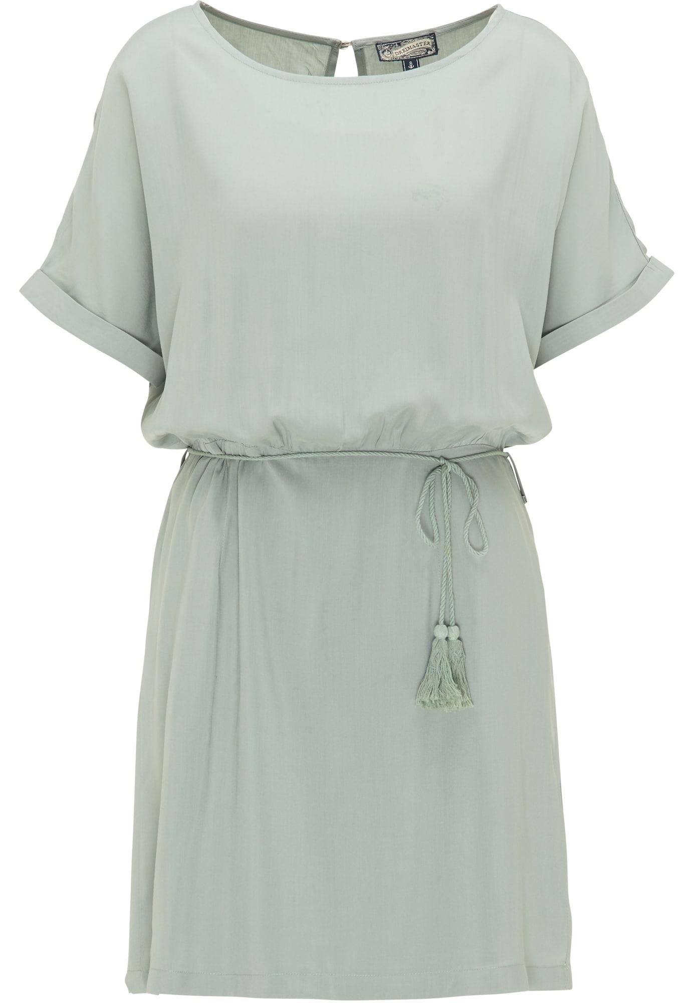 DreiMaster Vintage Suknelė pastelinė žalia