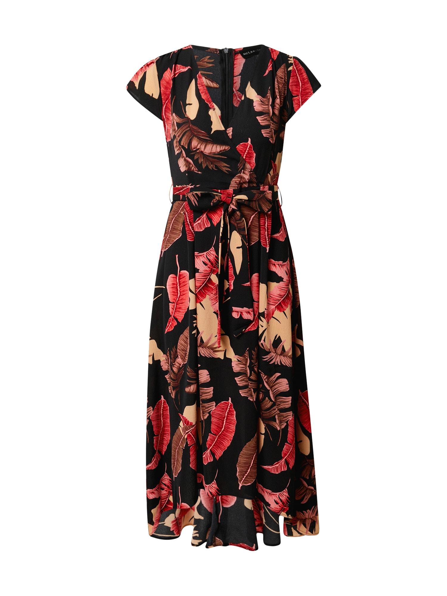 Mela London Suknelė raudona / juoda
