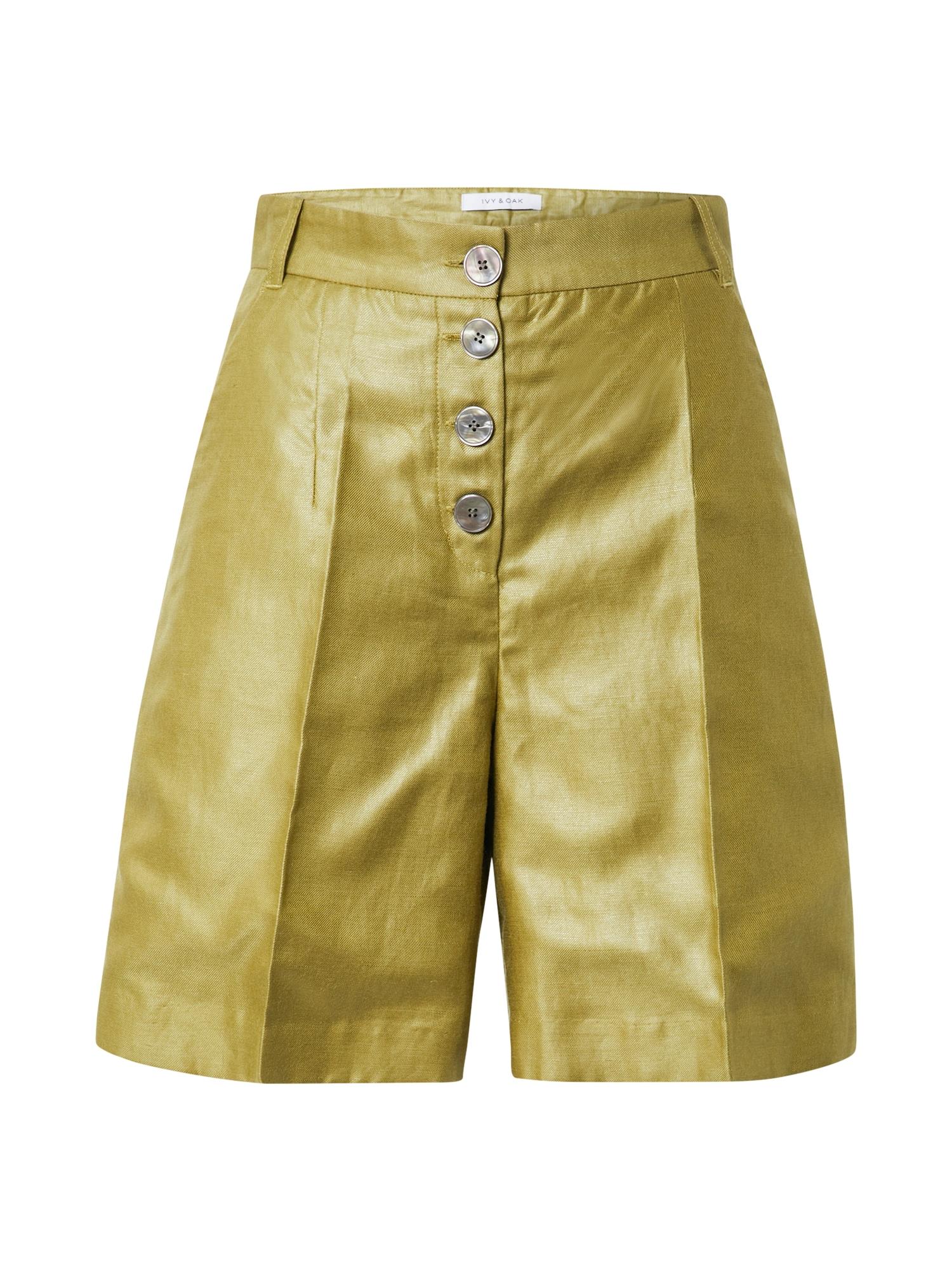 IVY & OAK Kelnės su kantu nendrių spalva