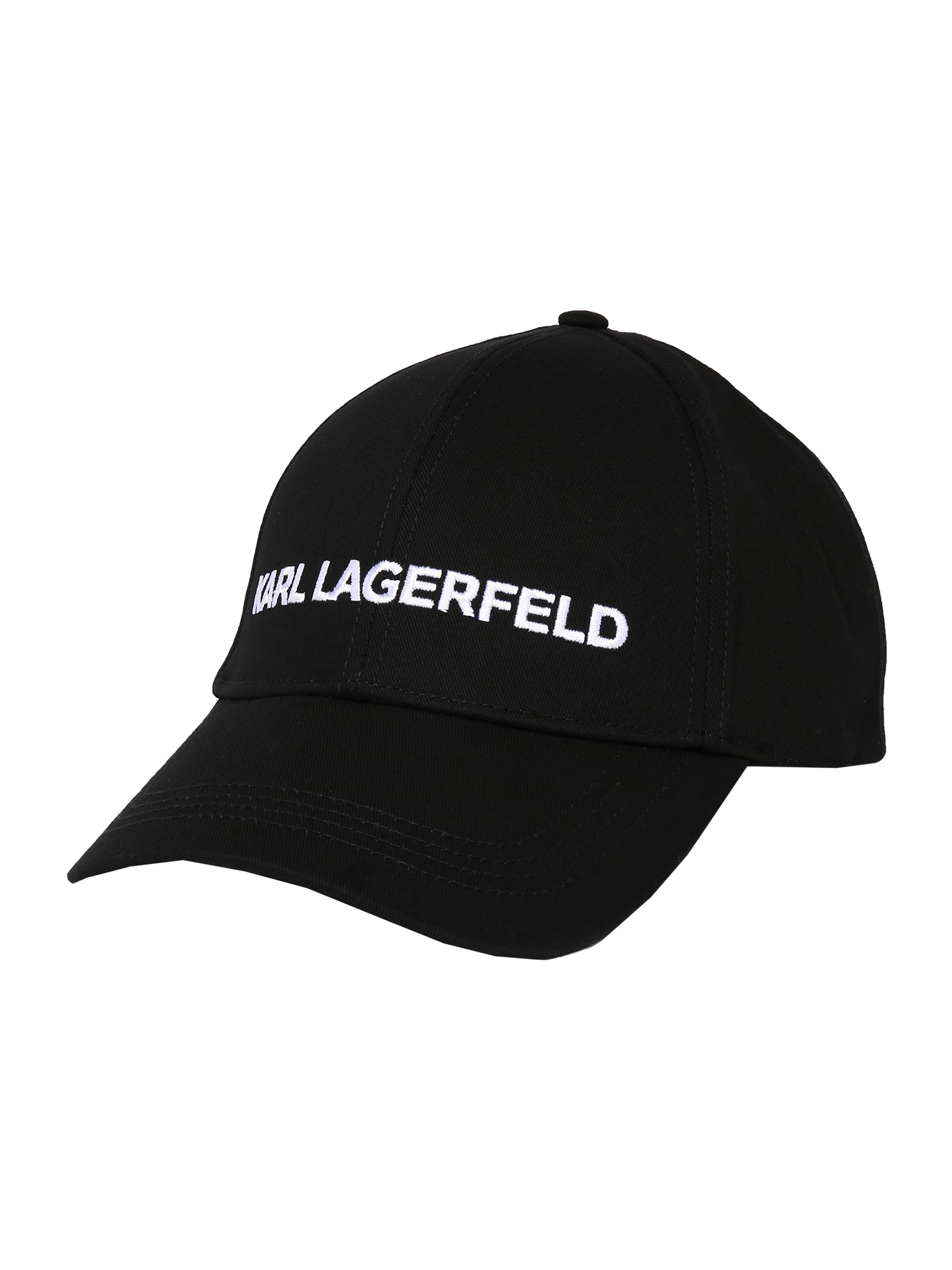 Karl Lagerfeld Kepurė juoda / balta