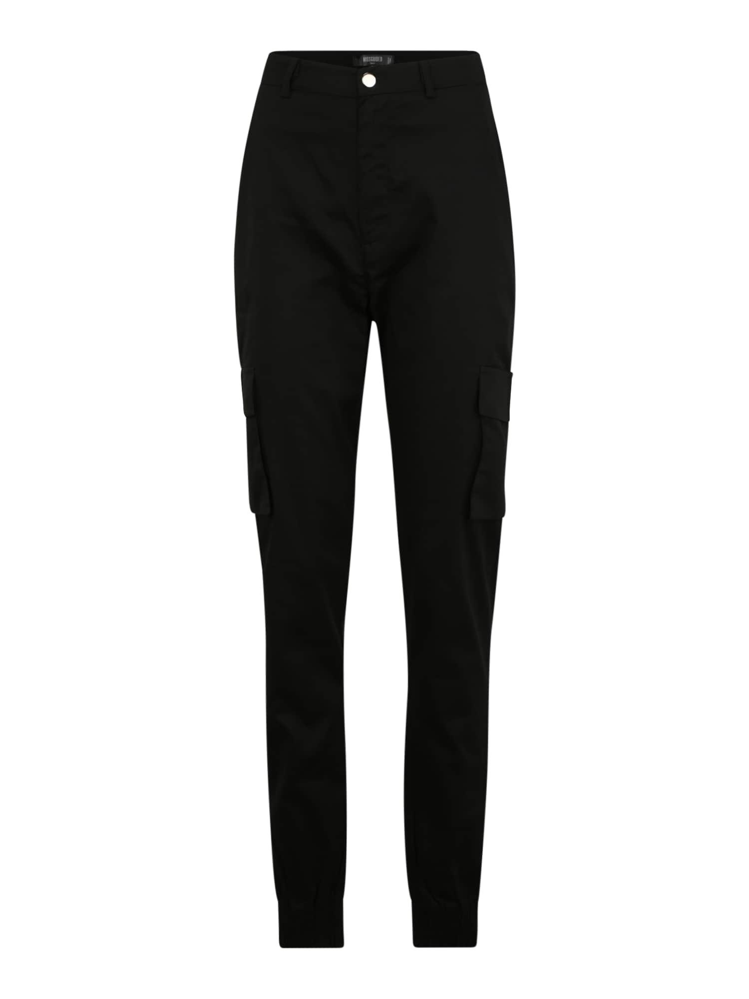 Missguided (Tall) Laisvo stiliaus kelnės juoda