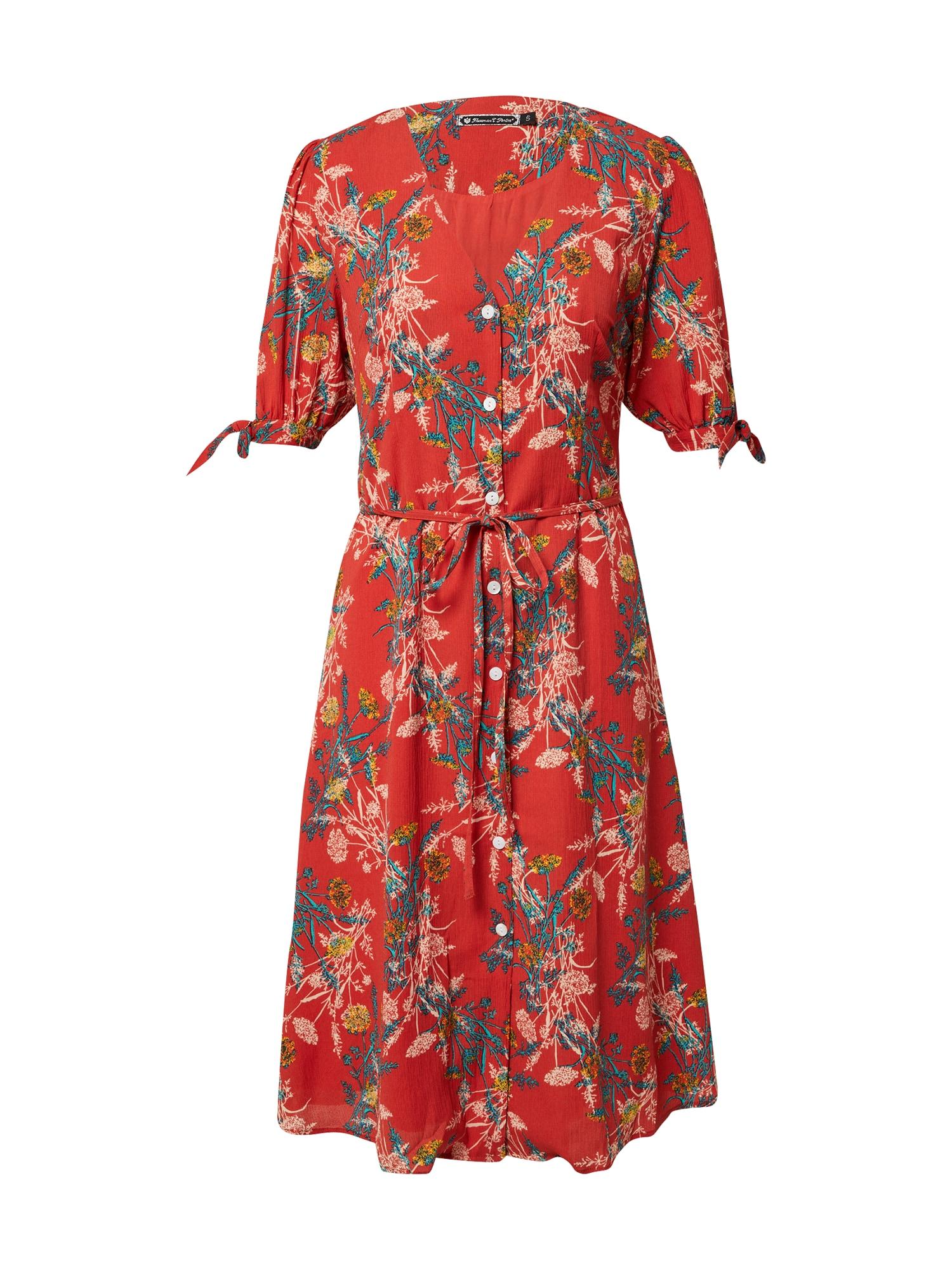FREEMAN T. PORTER Palaidinės tipo suknelė