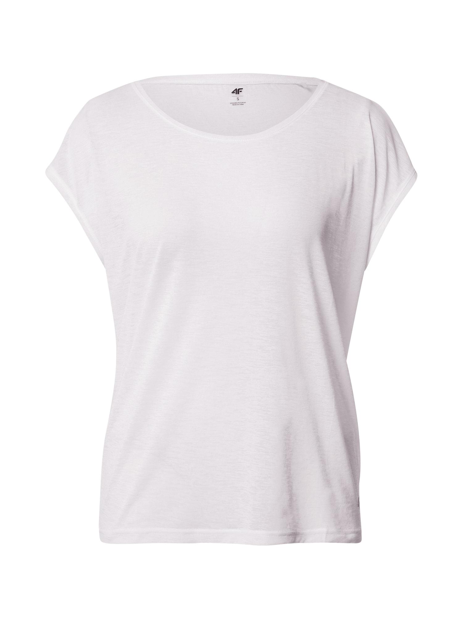 4F Sportiniai marškinėliai balta