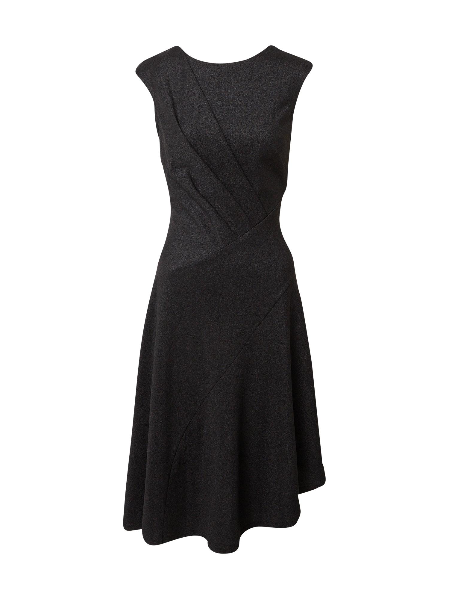 Closet London Kokteilinė suknelė margai juoda