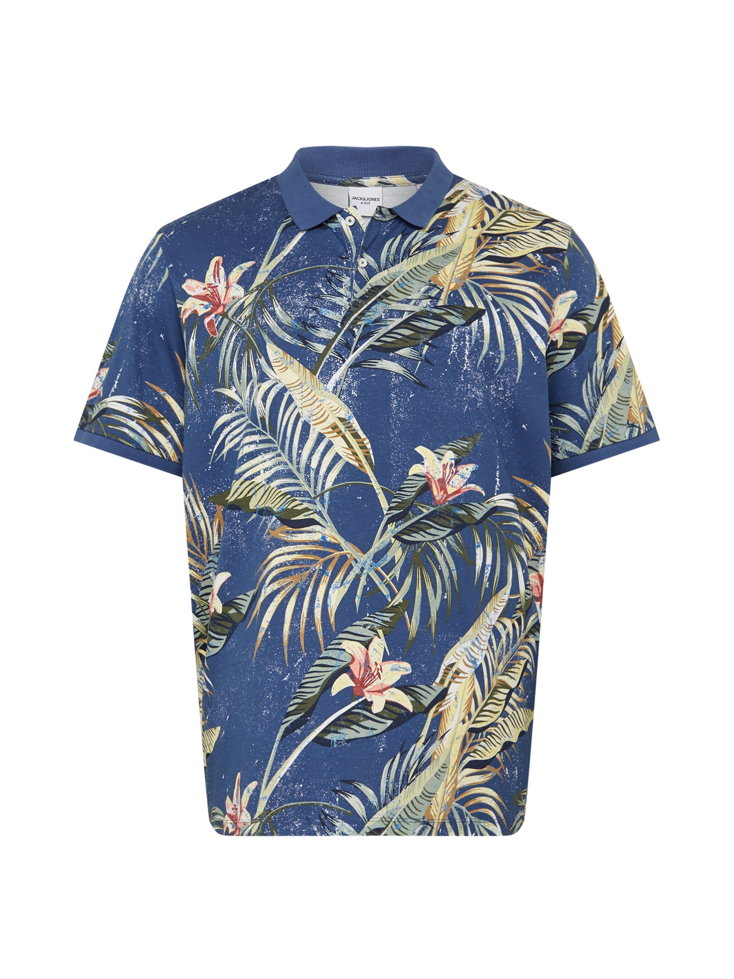 Jack & Jones Plus Marškinėliai mėlyna / mišrios spalvos