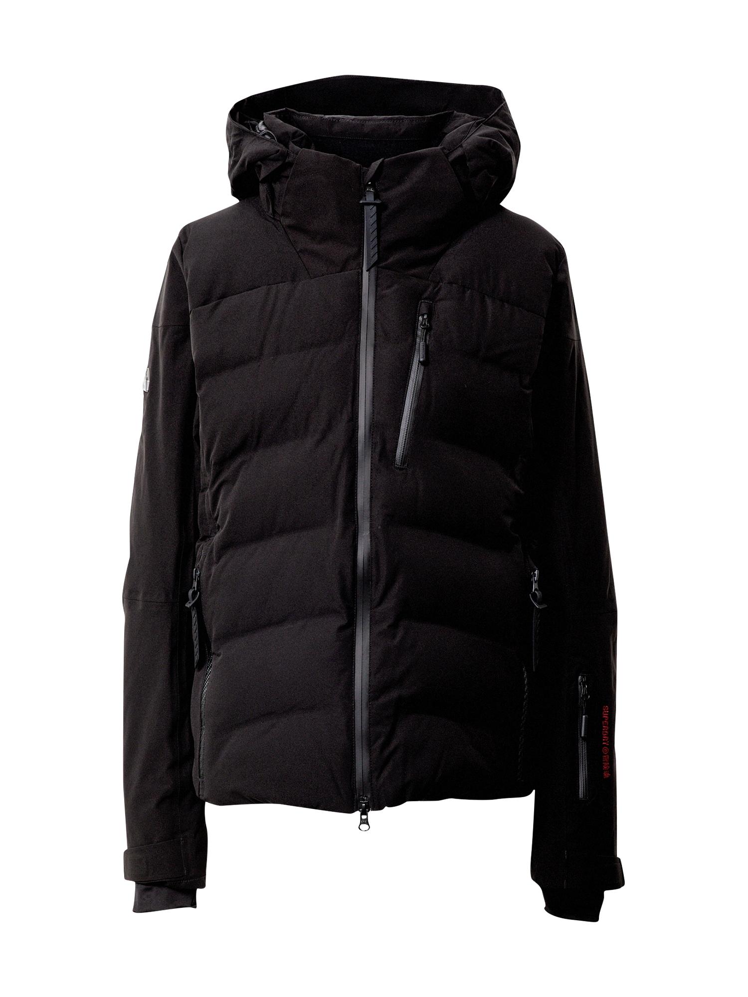 Superdry Snow Sportinė striukė juoda