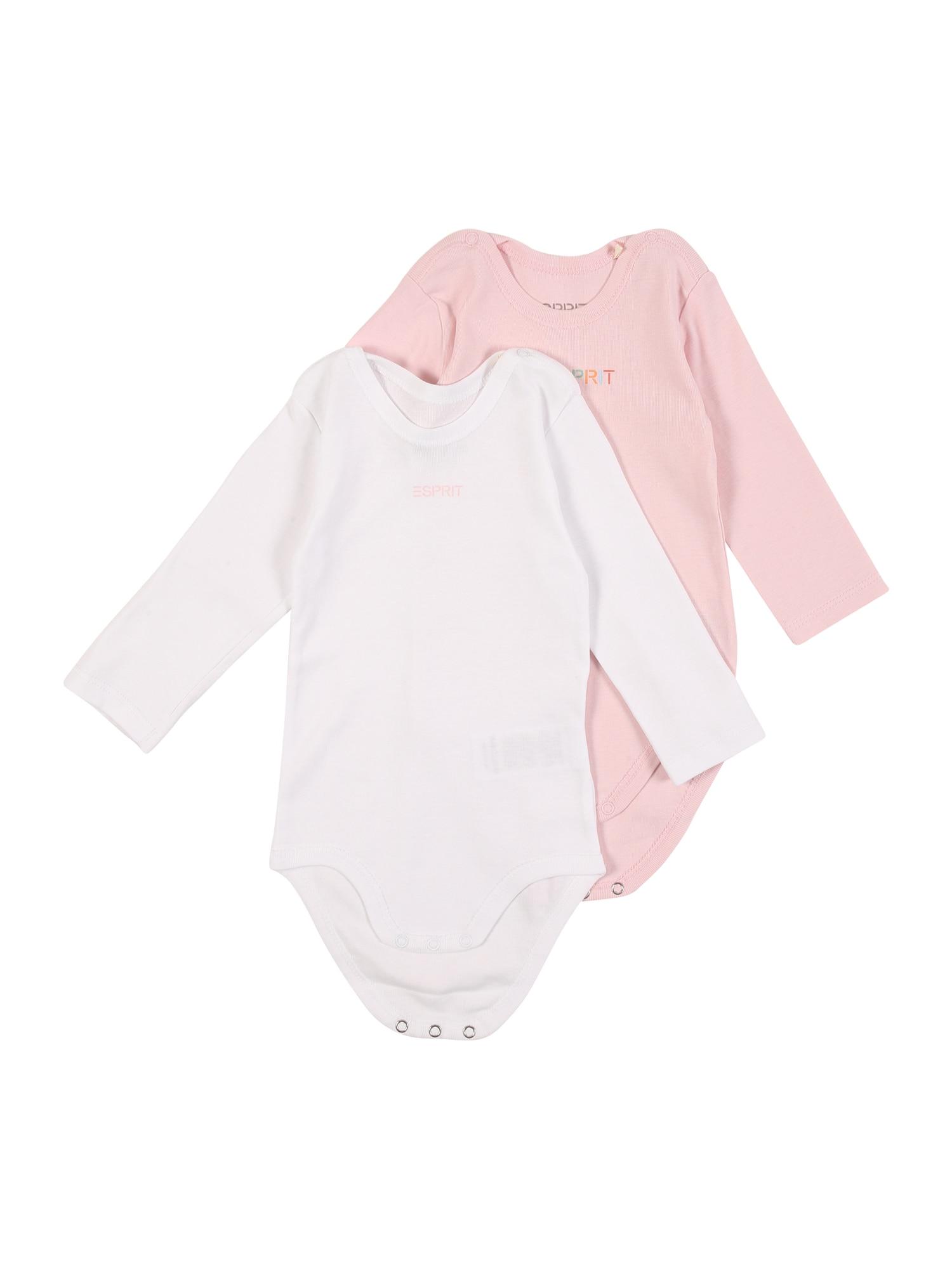 ESPRIT Dupačky/body  růžová / bílá / mix barev