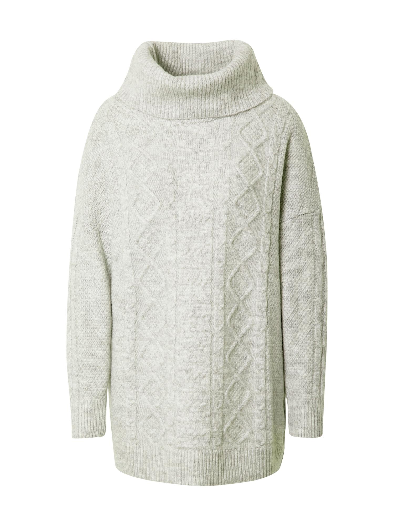 ABOUT YOU Laisvas megztinis 'Christin' margai pilka
