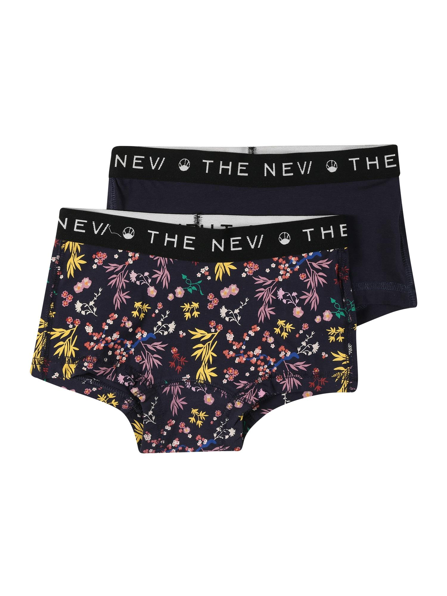 """The New Apatinės kelnaitės tamsiai mėlyna / geltona / rožinė / sodri mėlyna (""""karališka"""") / nefrito spalva"""