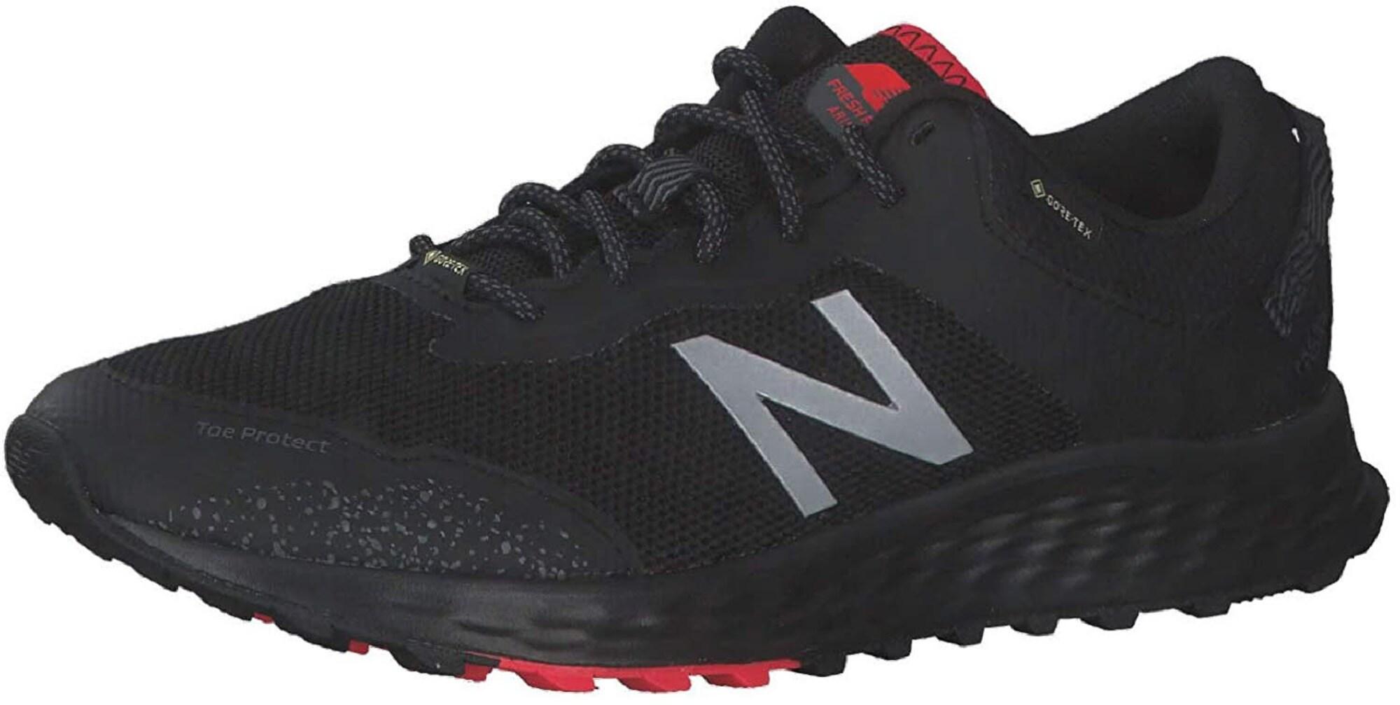 new balance Bėgimo batai juoda / šviesiai pilka