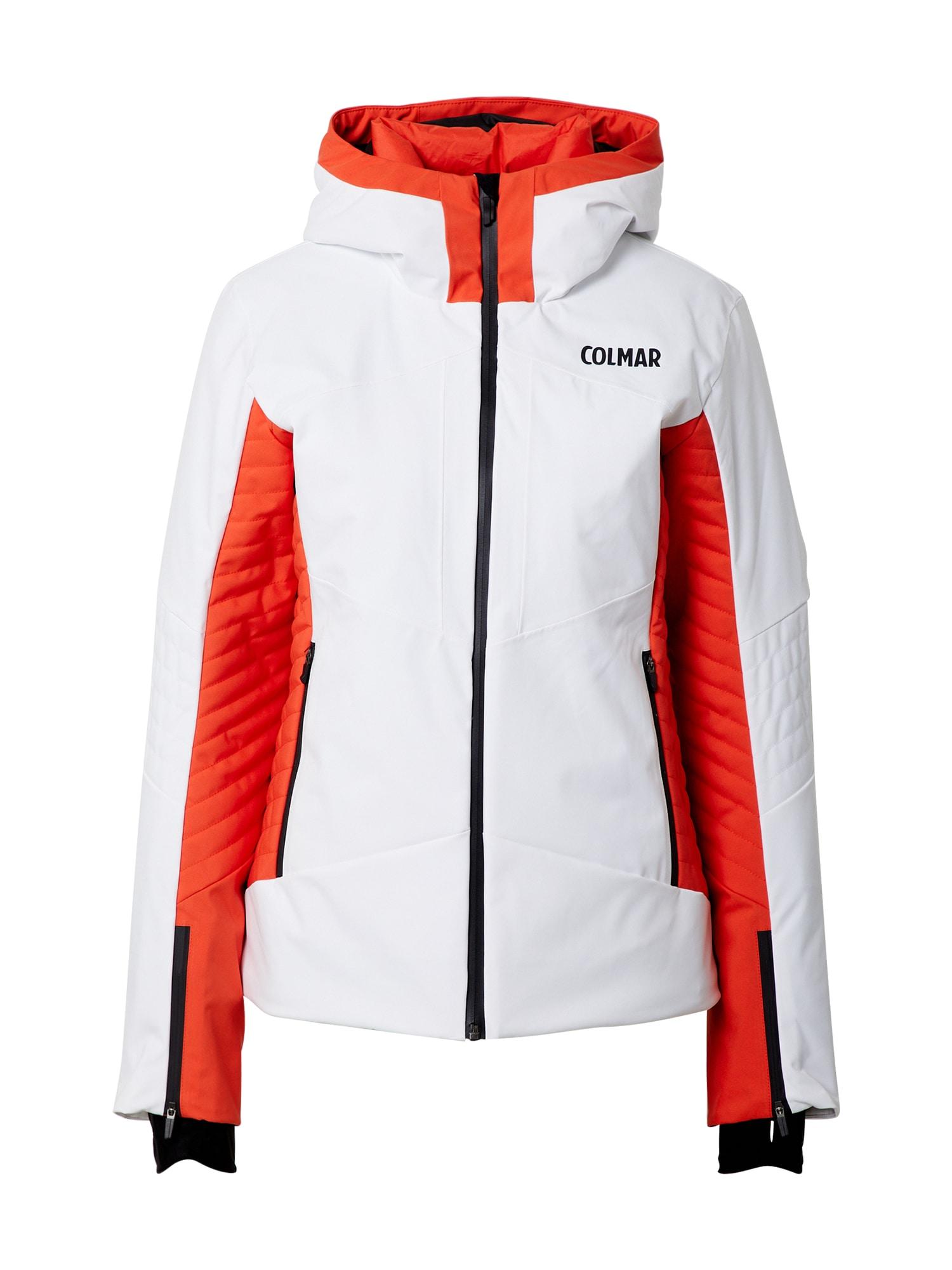 Colmar Sportinė striukė oranžinė / balta / juoda