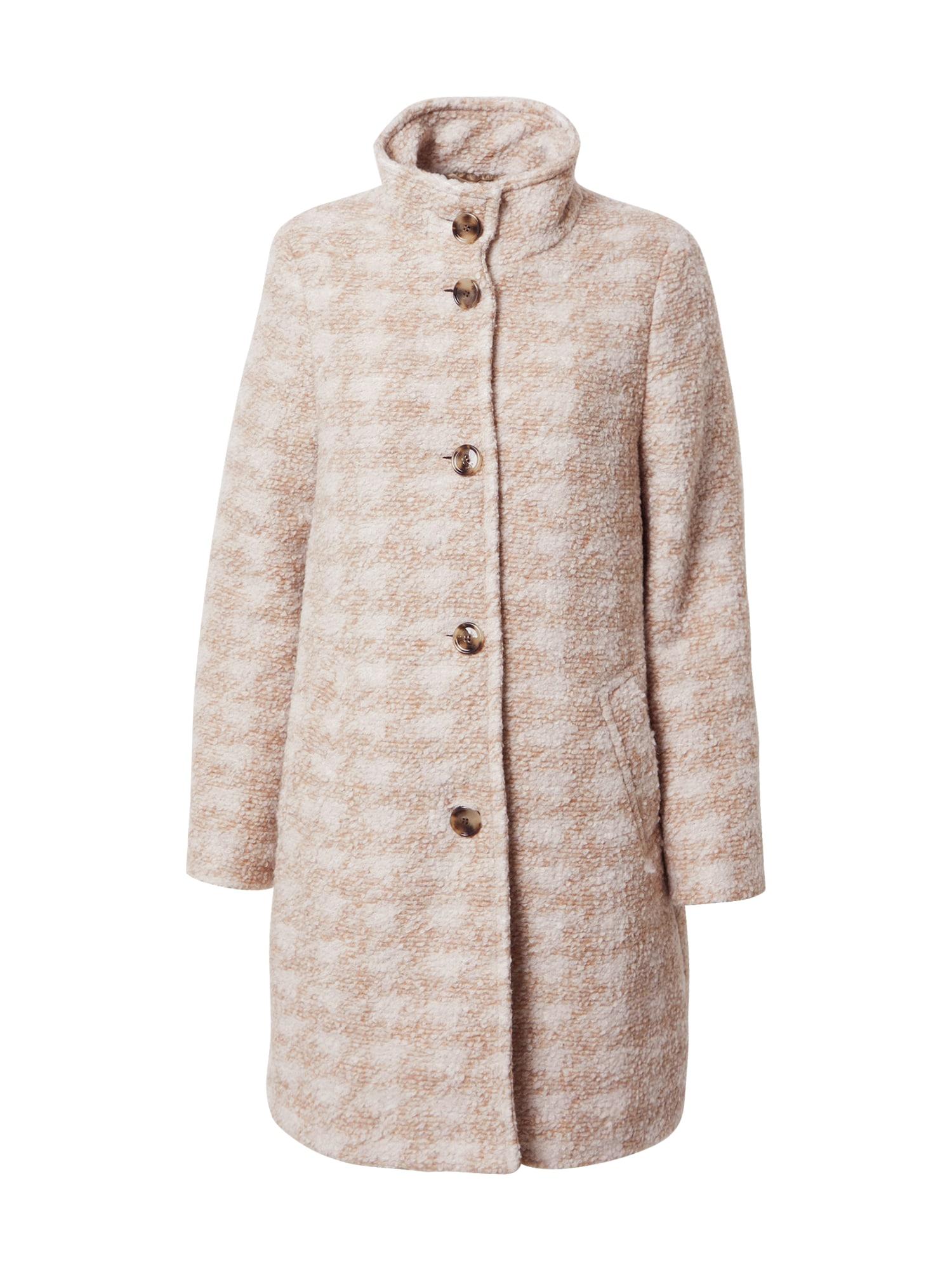 BOSS Rudeninis-žieminis paltas smėlio / balta