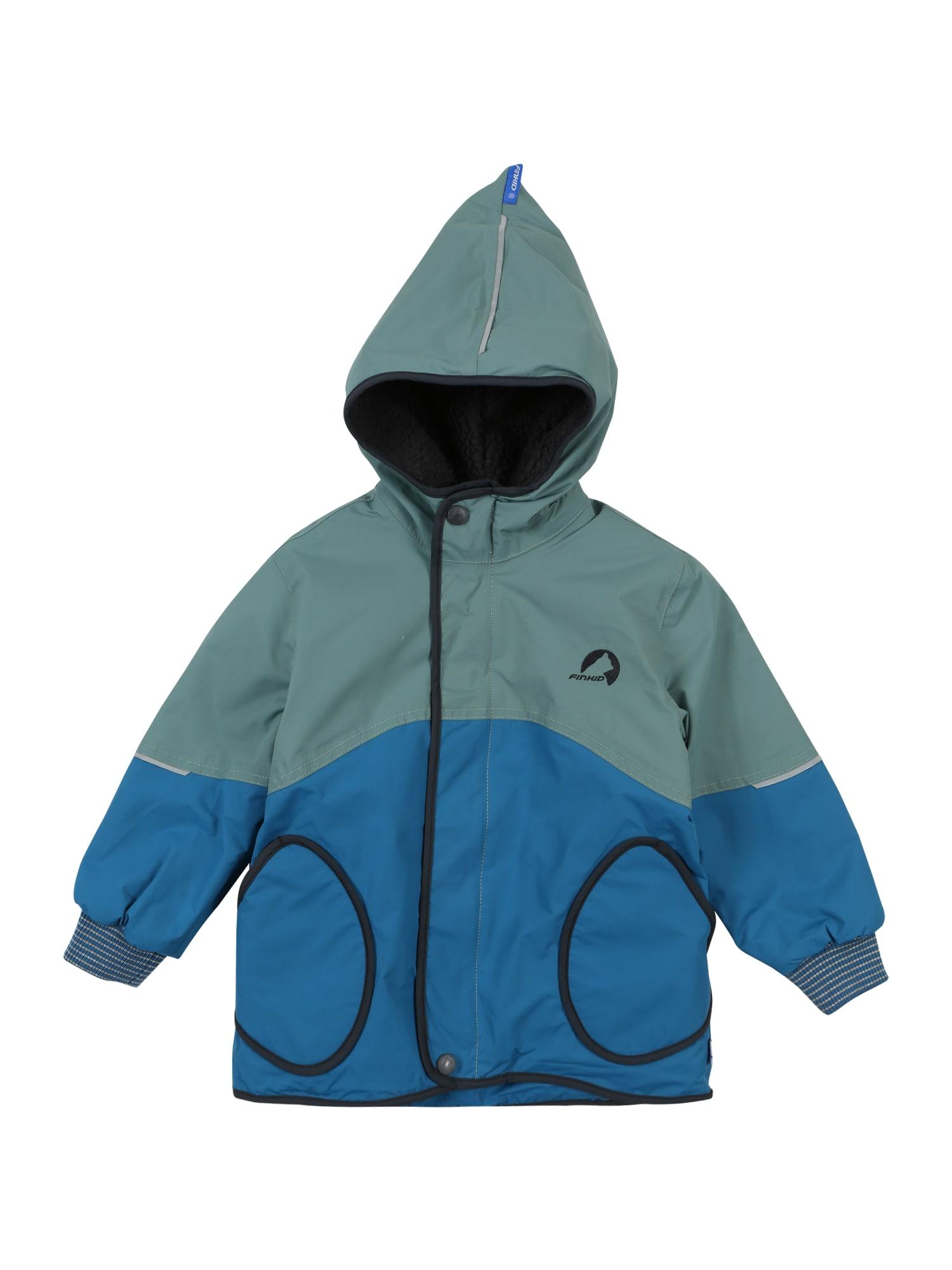 FINKID Žieminė striukė mėlyna / pastelinė mėlyna