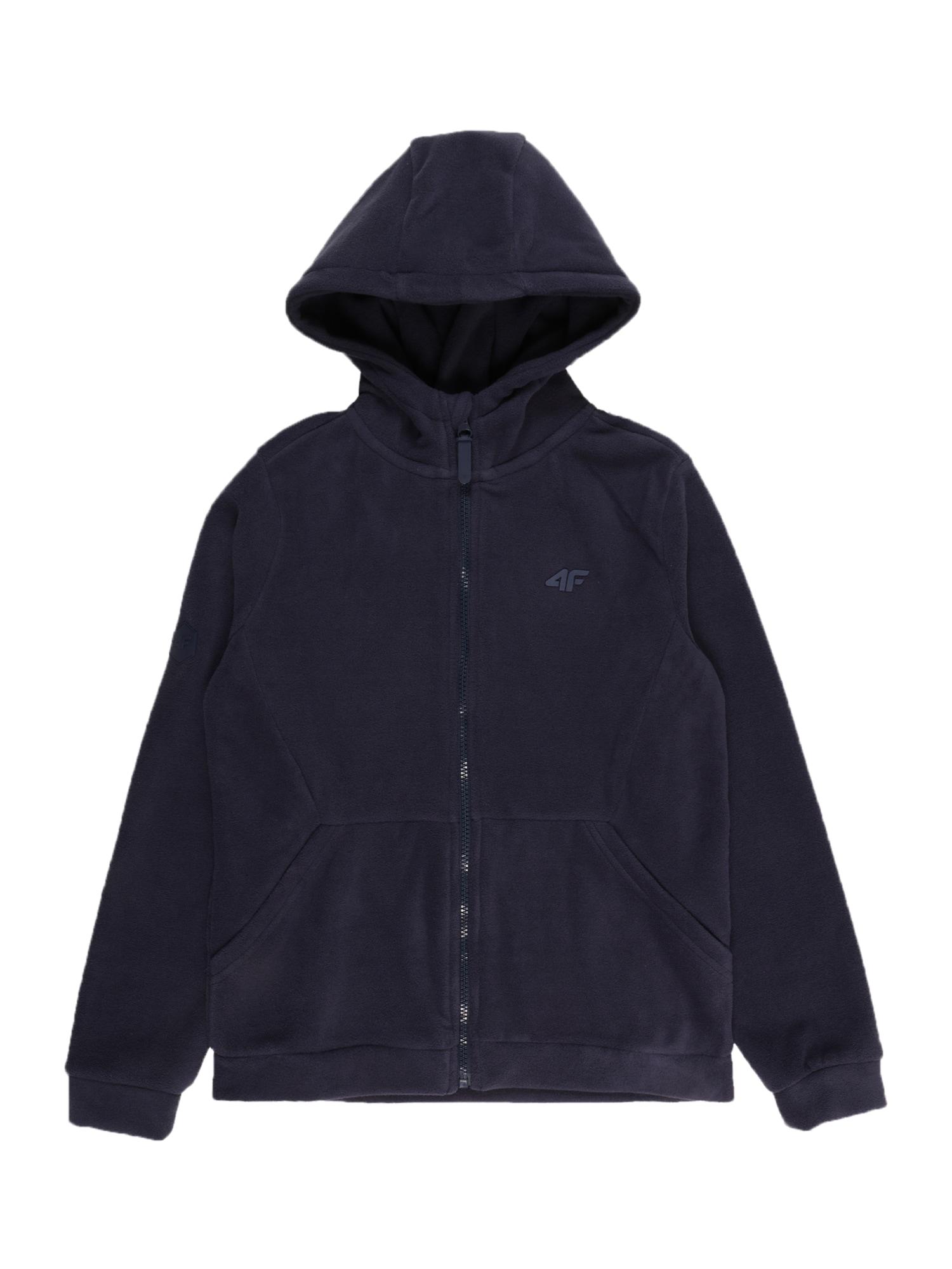 4F Funkcinis flisinis džemperis tamsiai mėlyna