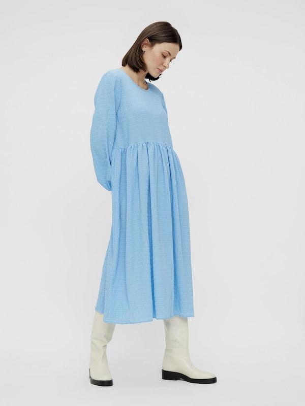 Pieces Pernua Langärmeliges Midi-Kleid