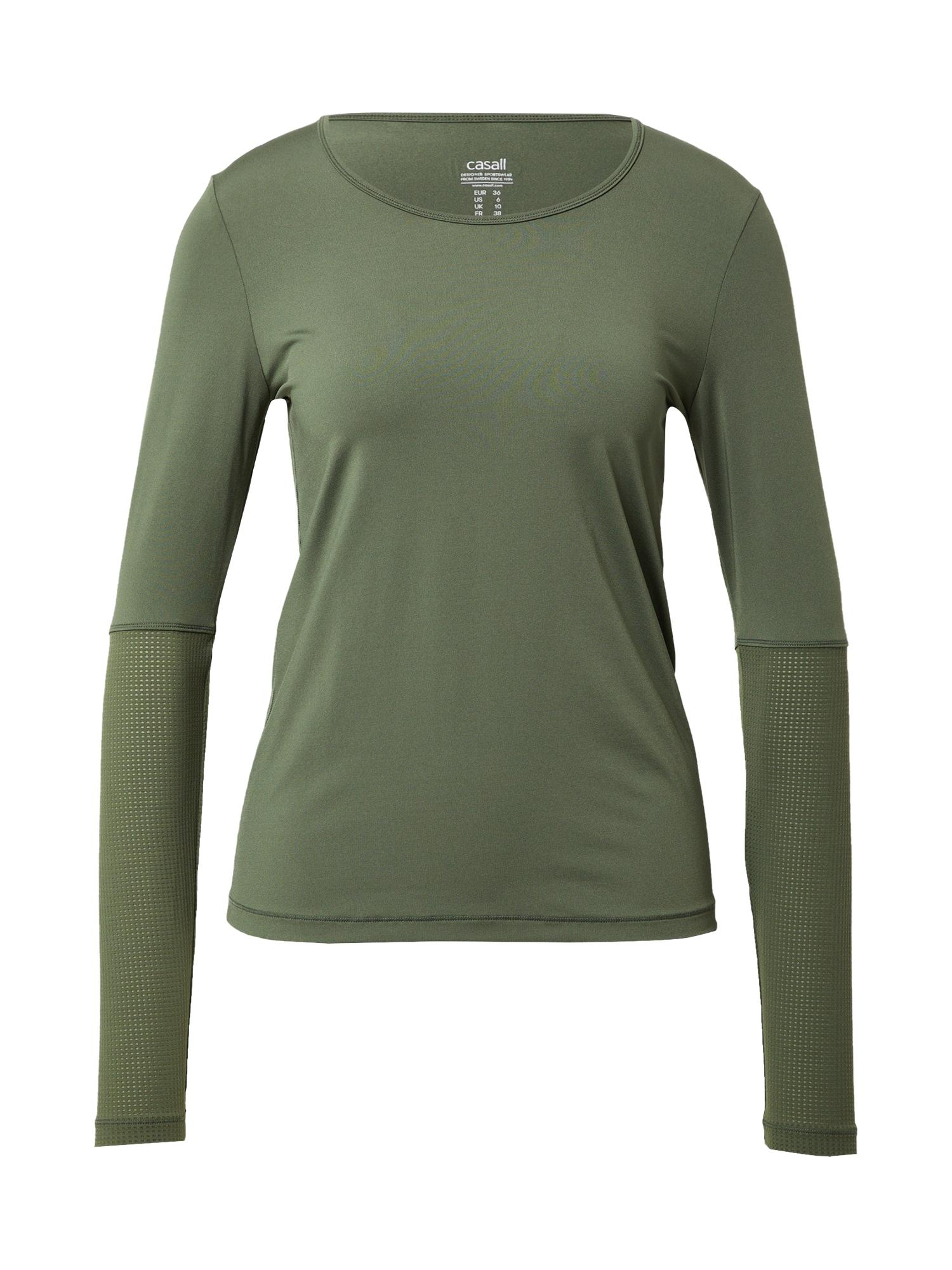 Casall Sportiniai marškinėliai tamsiai žalia