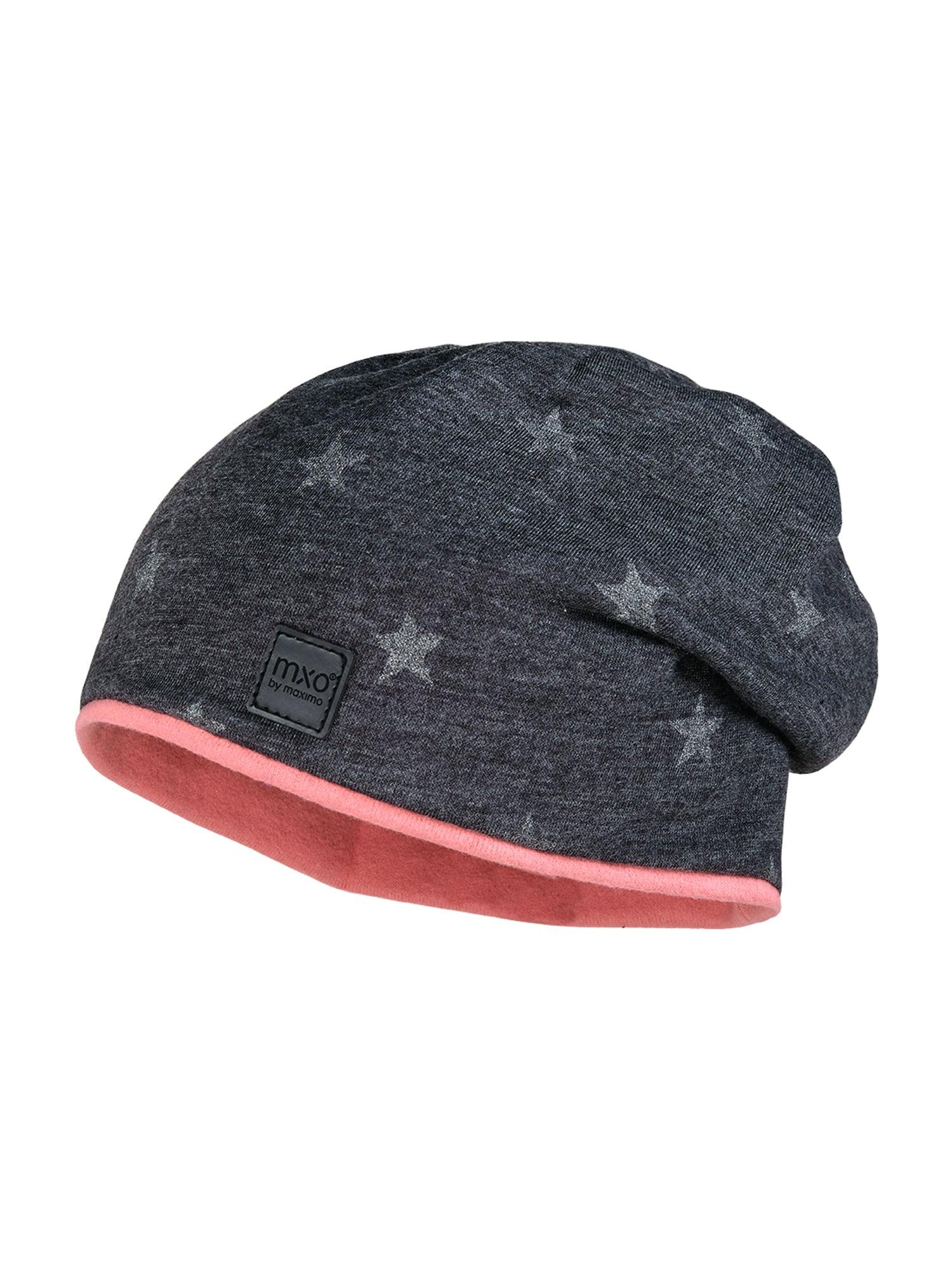 MAXIMO Megzta kepurė sidabrinė / antracito