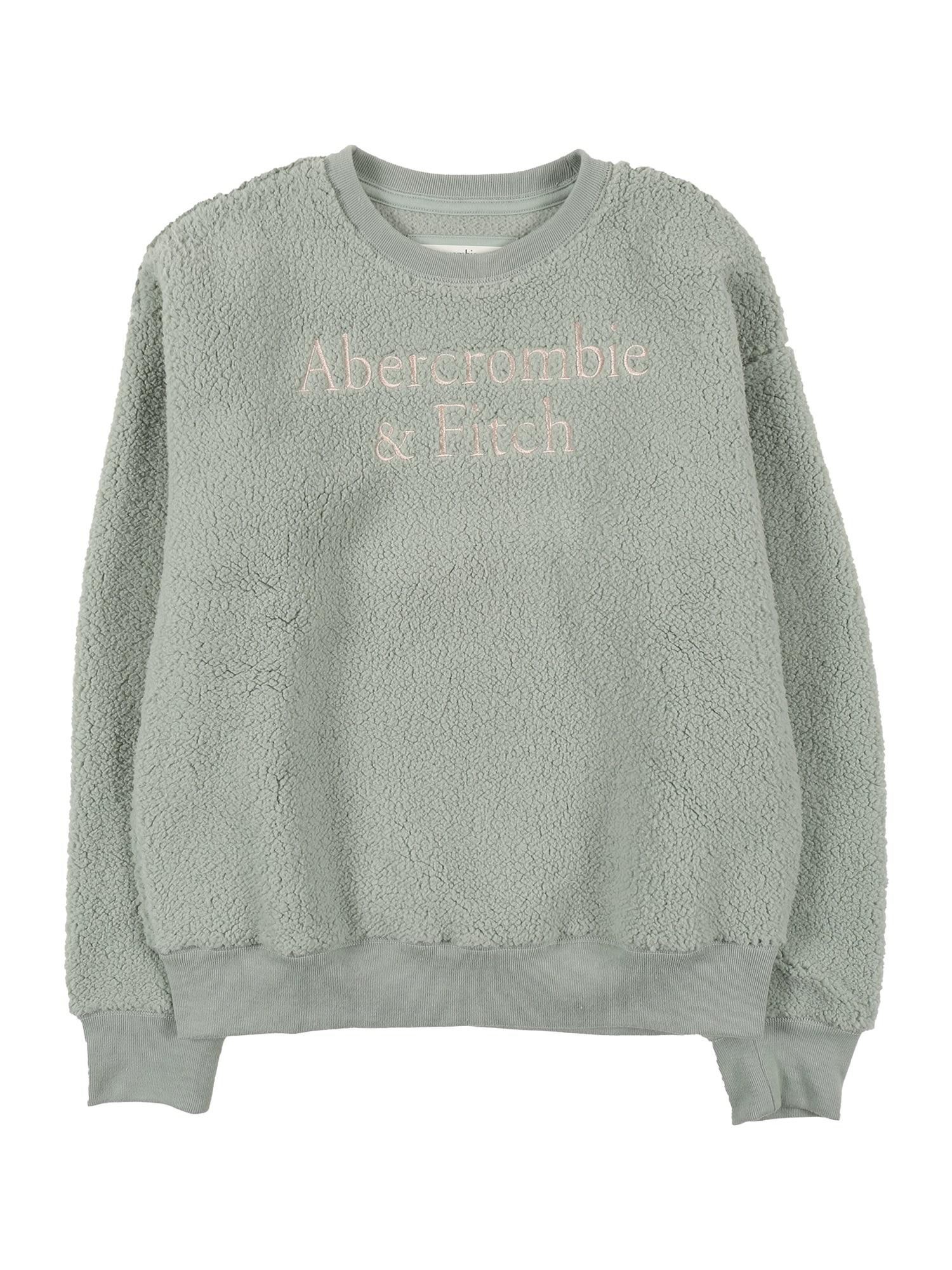 Abercrombie & Fitch Megztinis mėtų spalva / rožių spalva