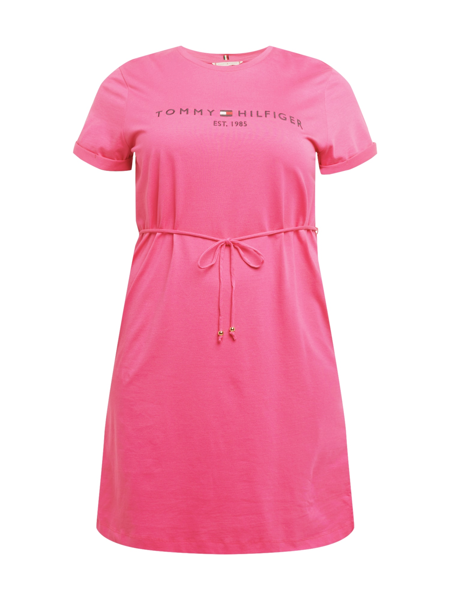 Tommy Hilfiger Curve Suknelė rožinė / nakties mėlyna