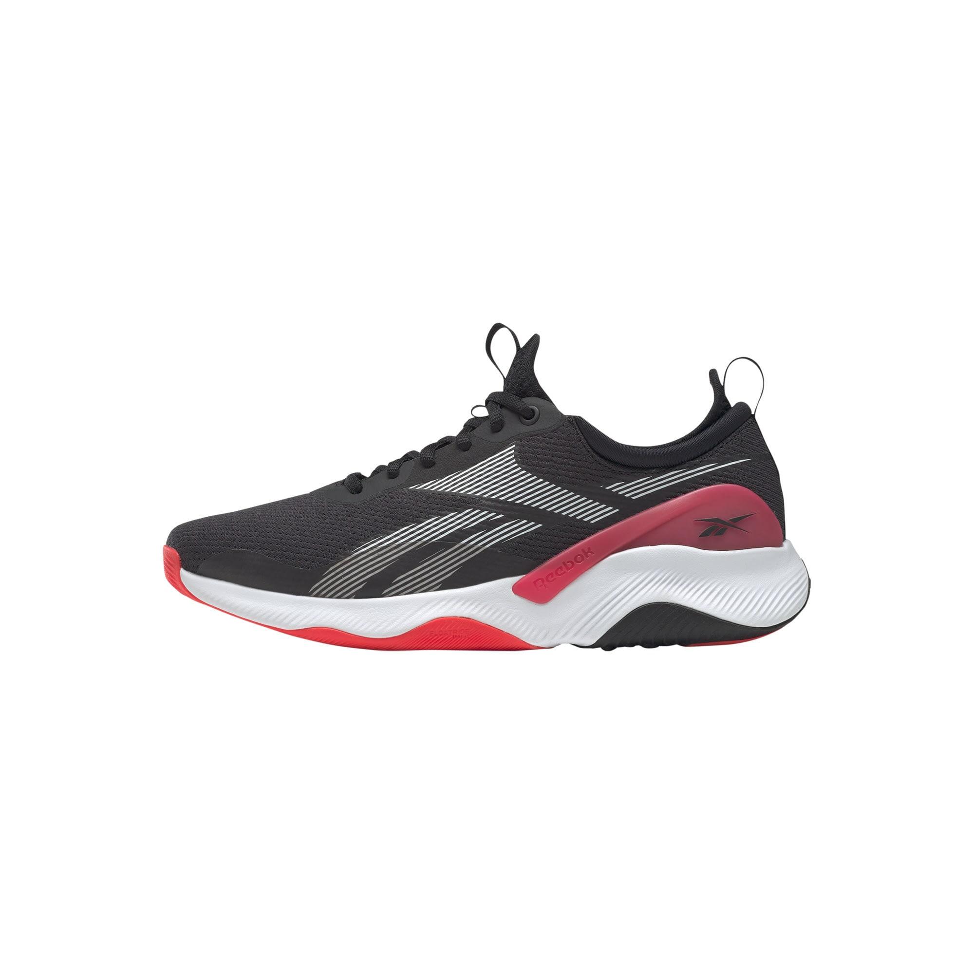 Reebok Sport Bėgimo batai juoda / pilka / raudona