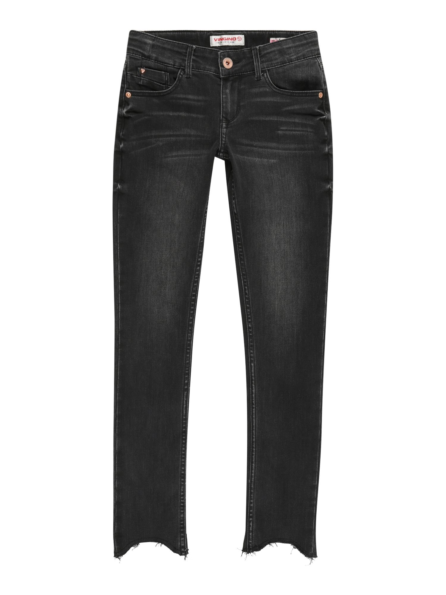 VINGINO Džinsai juodo džinso spalva