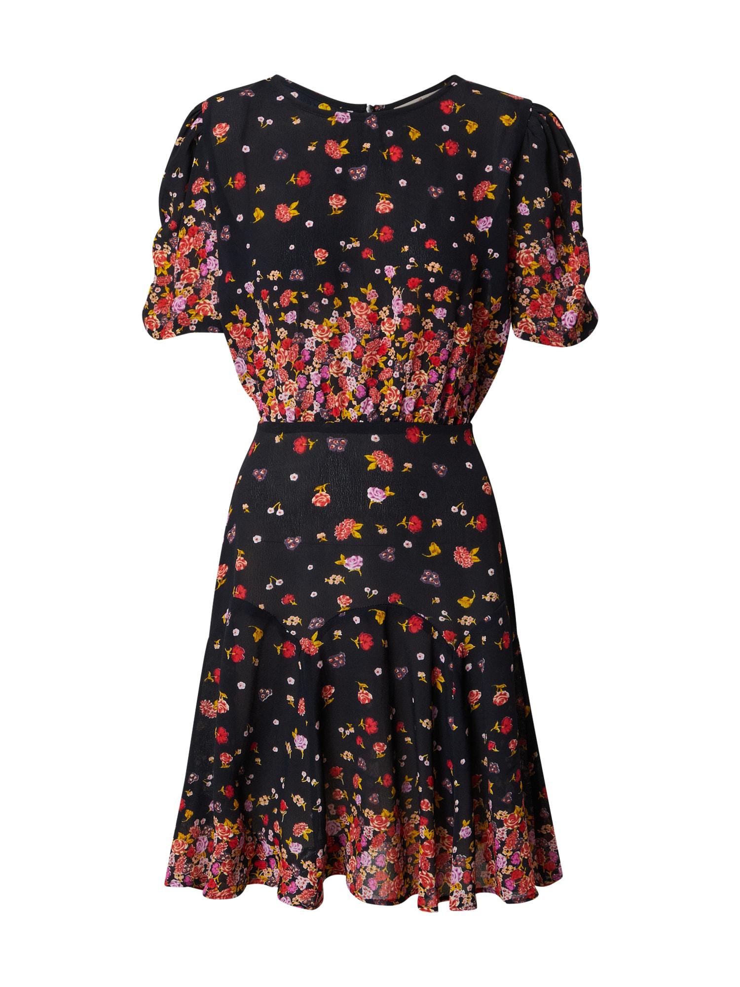 Derhy Vasarinė suknelė juoda / raudona / geltona / purpurinė / balta