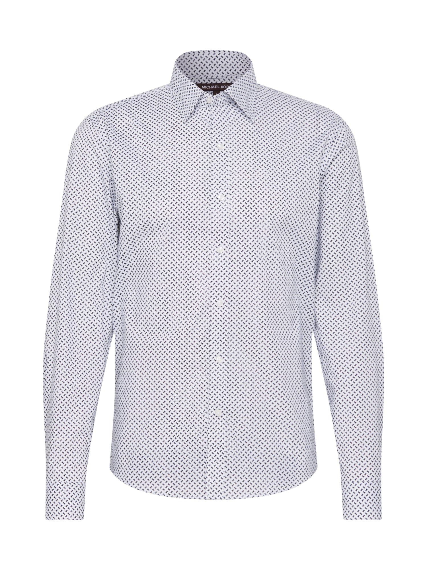 Michael Kors Marškiniai balta / juoda