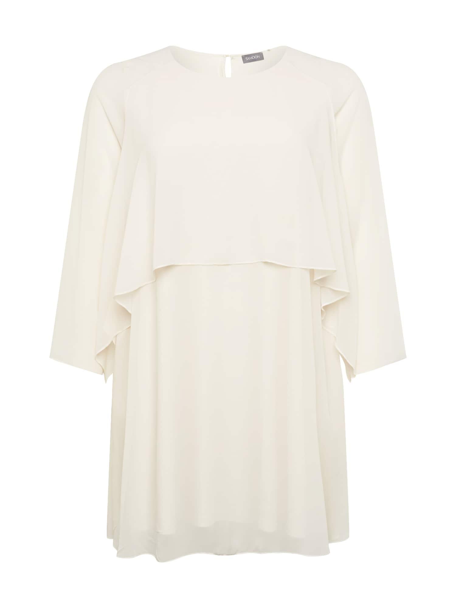 SAMOON Suknelė perlų balta