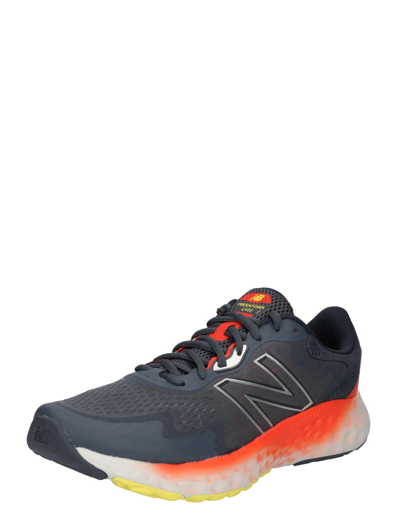 new balance Bėgimo batai antracito spalva / geltona / neoninė oranžinė