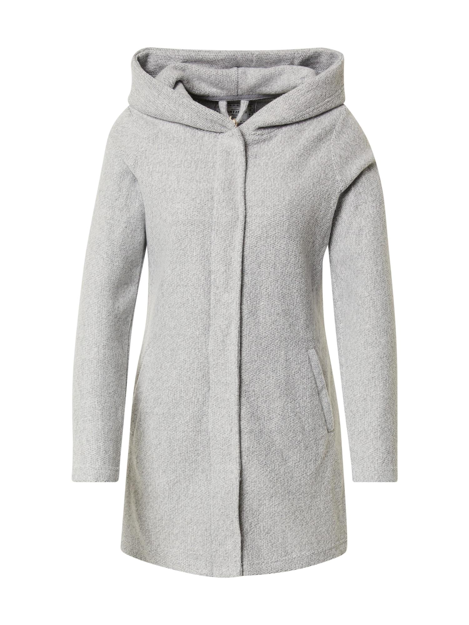 Eight2Nine Demisezoninis paltas šviesiai pilka