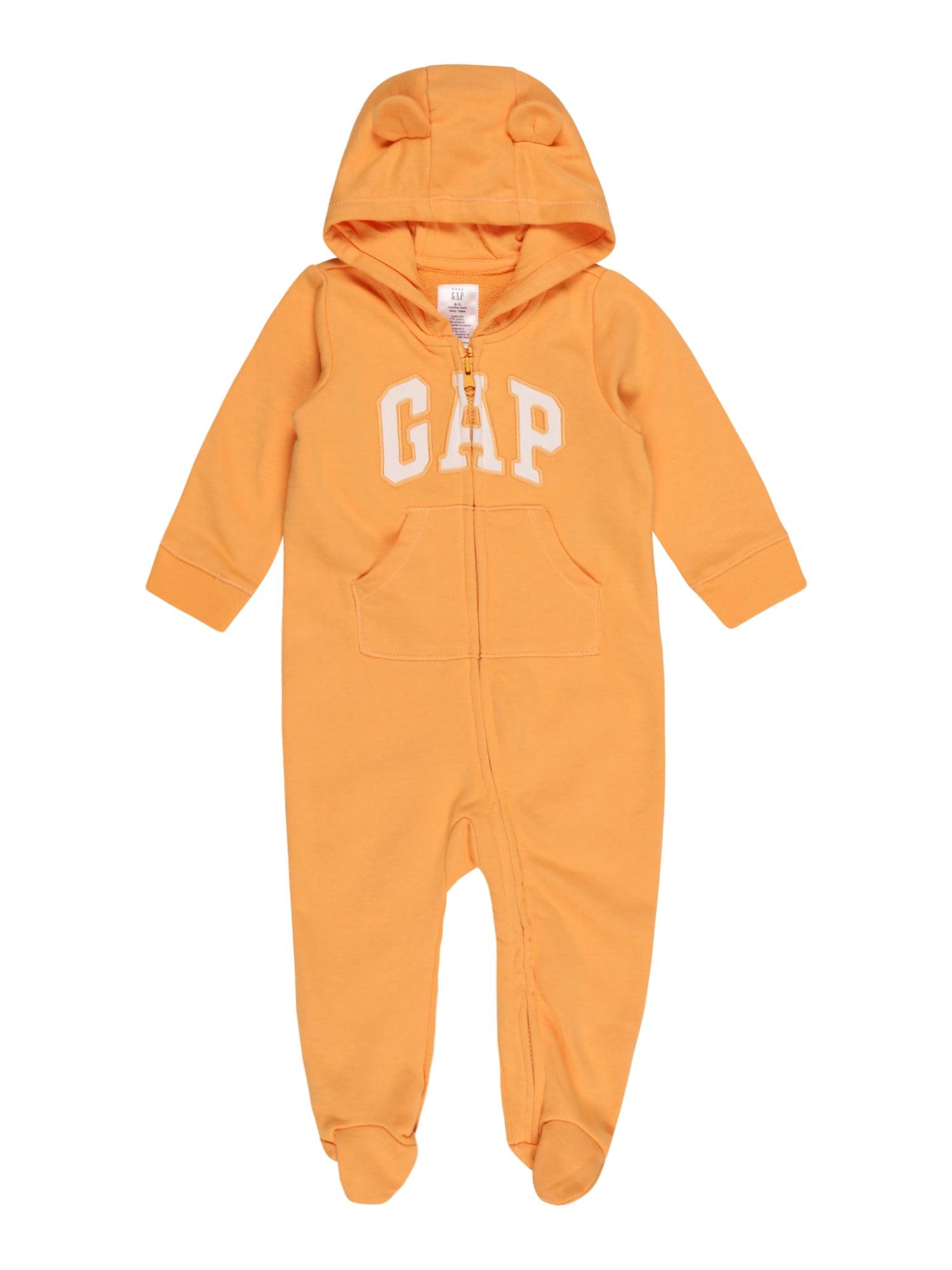 GAP Kombinezonas oranžinė / balta