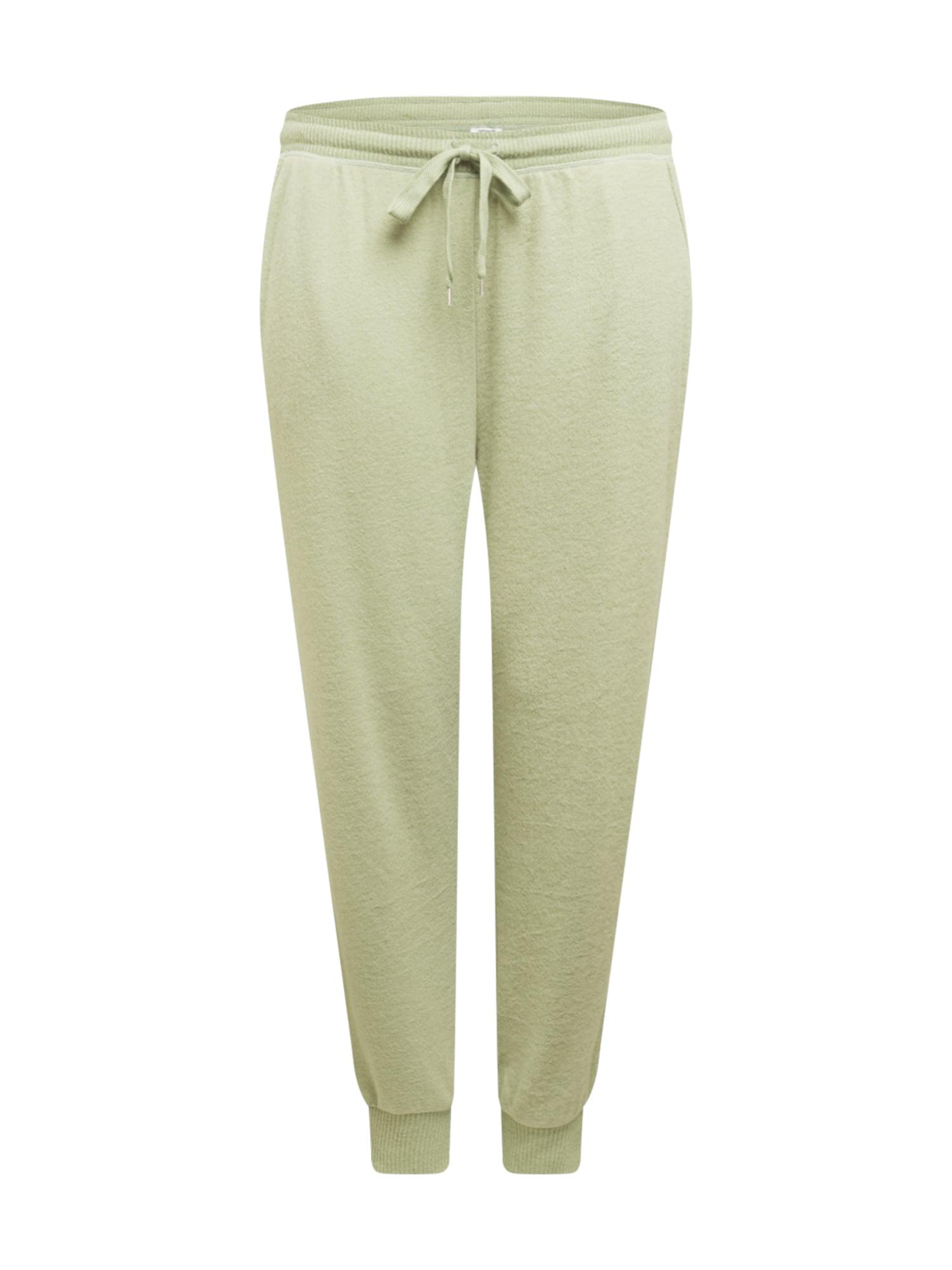 Cotton On Curve Kelnės pastelinė žalia