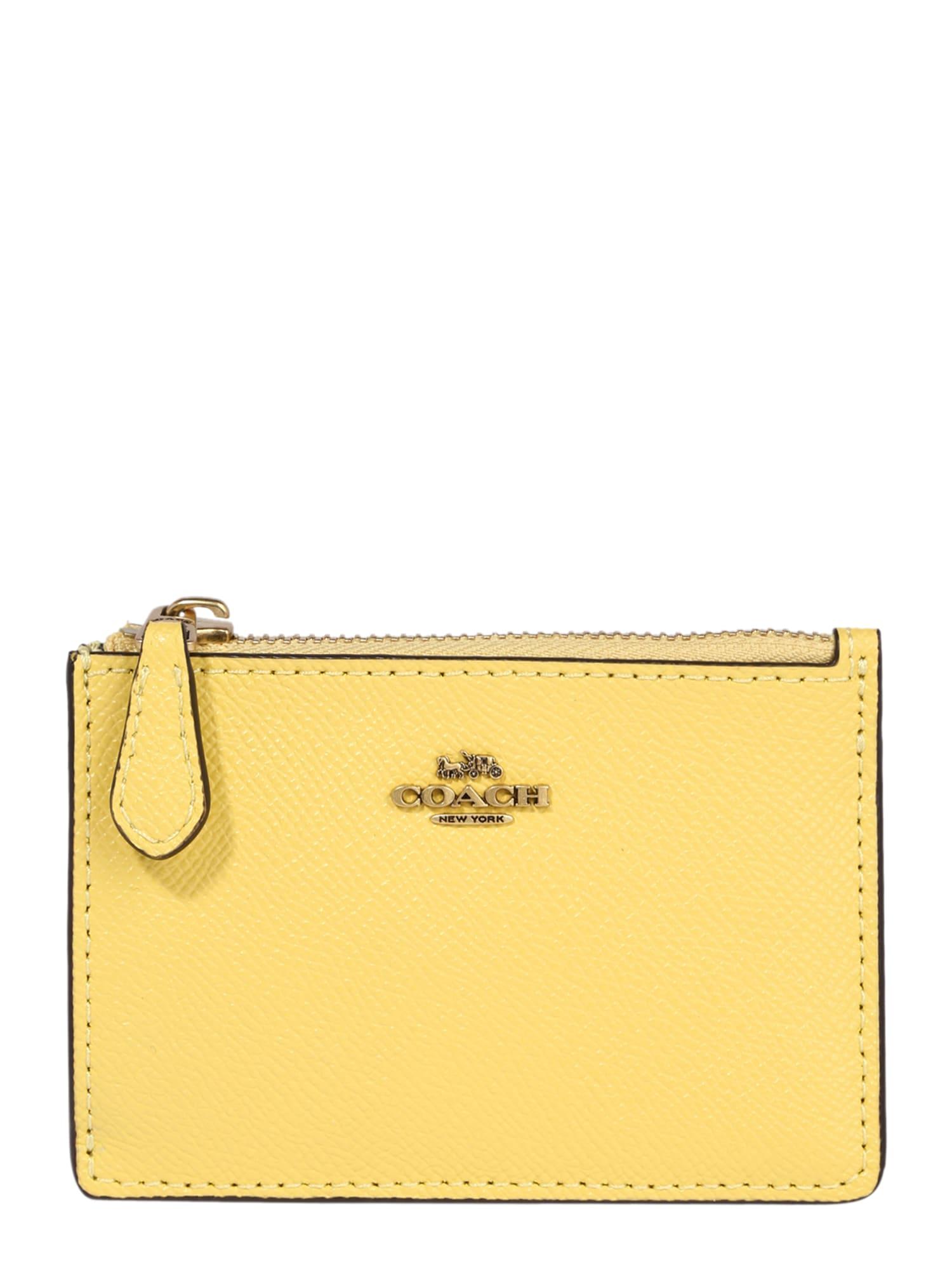 COACH Piniginė geltona