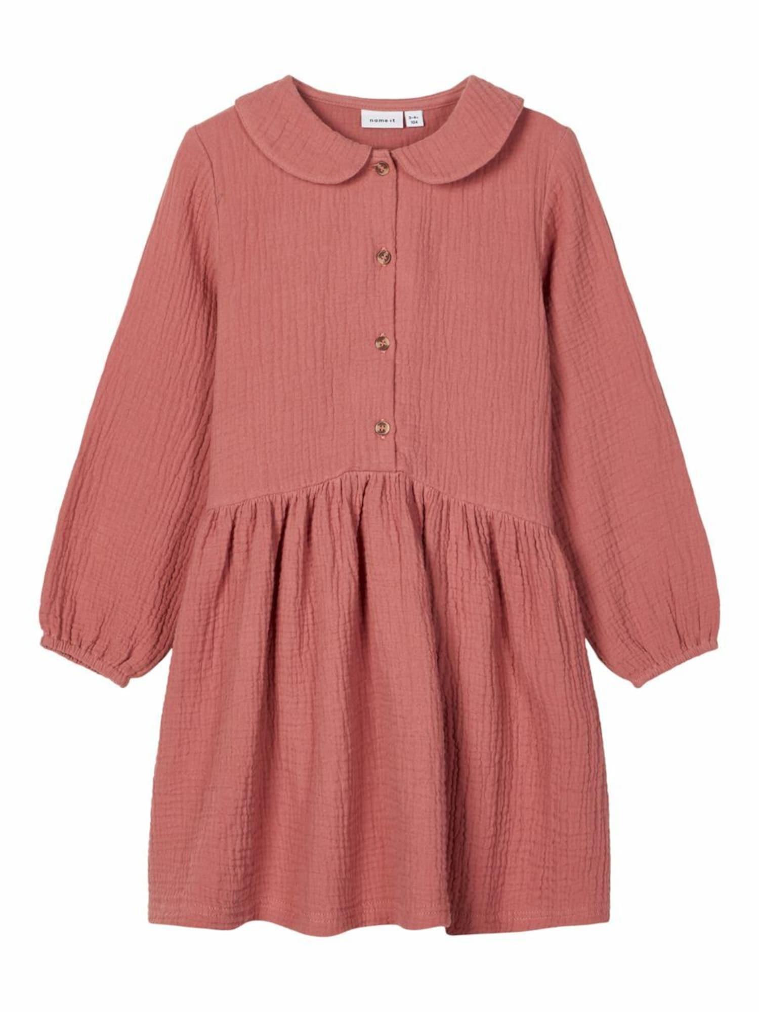 NAME IT Suknelė tamsiai rožinė