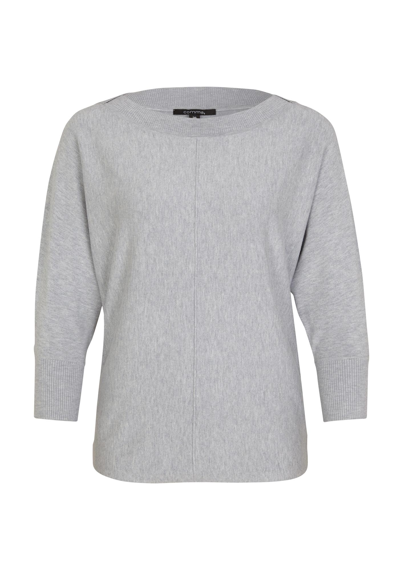 COMMA Megztinis pilka