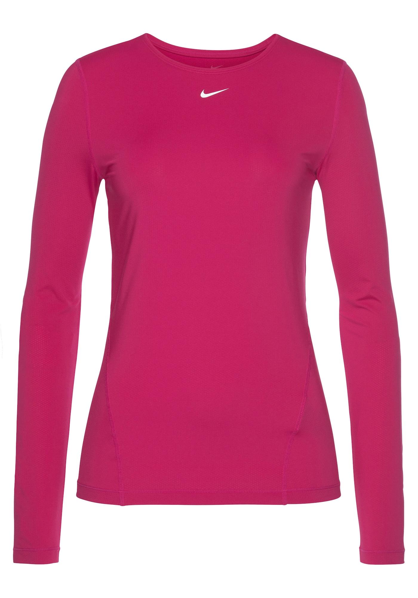 NIKE Sportiniai marškinėliai fuksijų spalva