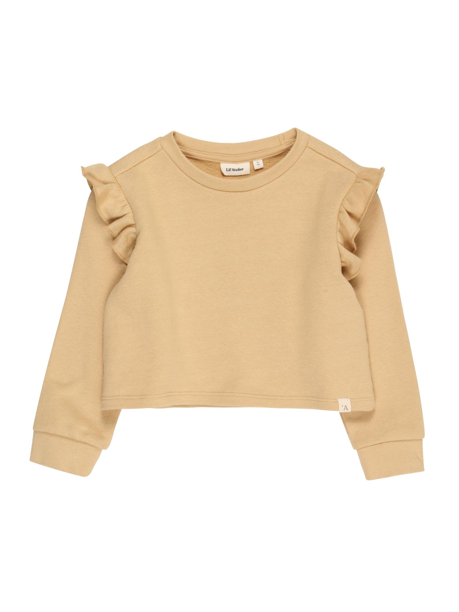 NAME IT Megztinis be užsegimo pastelinė geltona